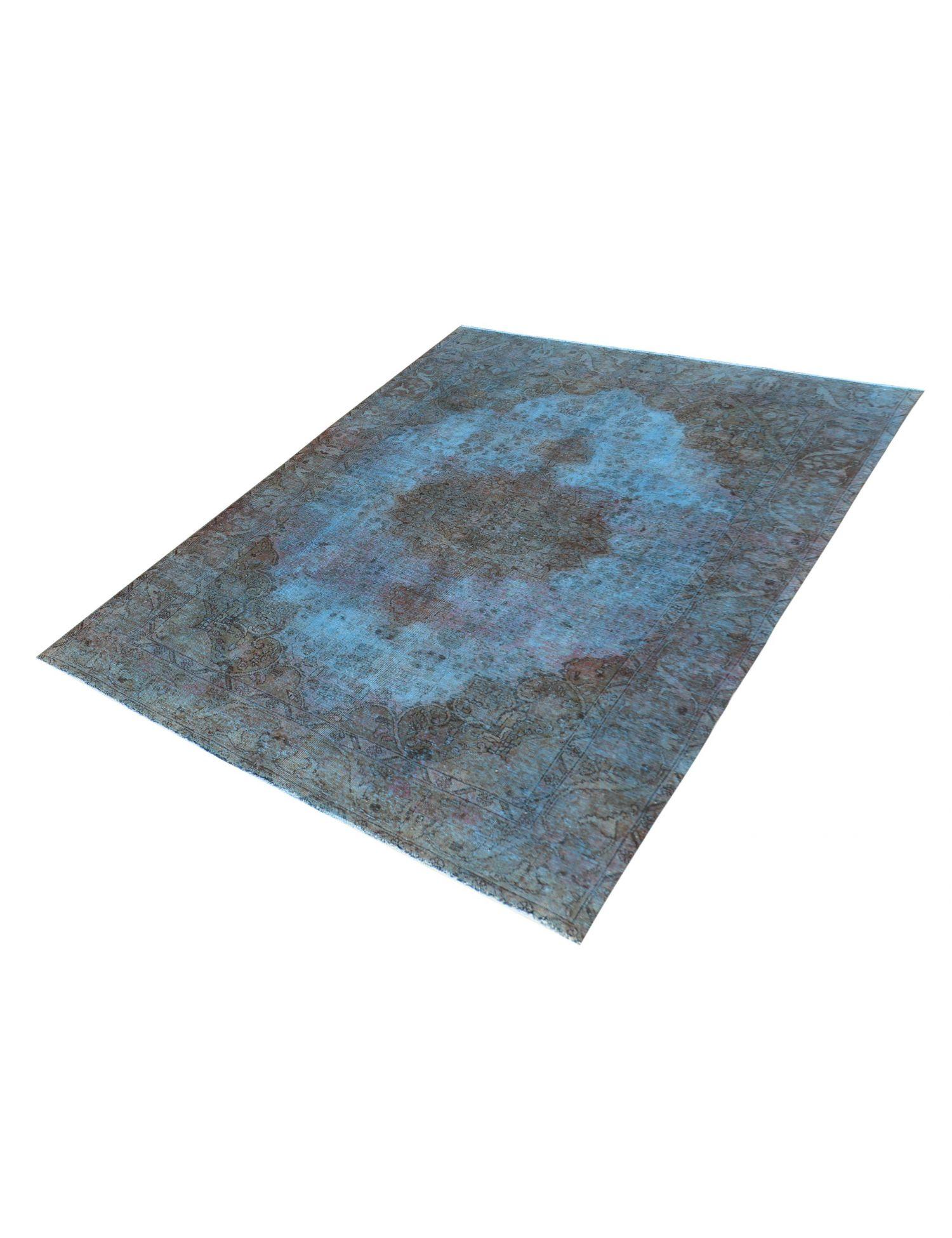 Tappeto vintage persiano  blu <br/>277 x 203 cm