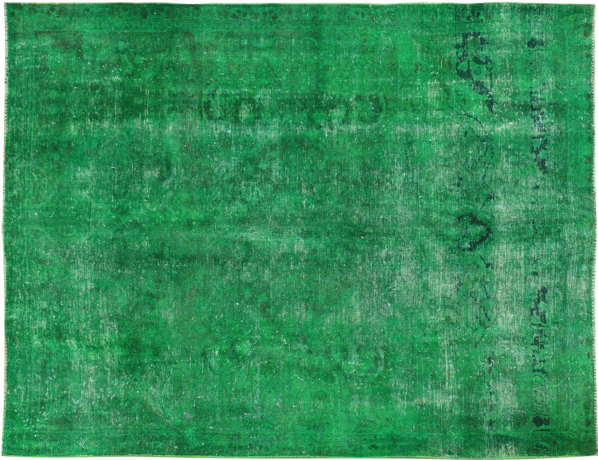 Tappeto vintage persiano  verde <br/>307 x 220 cm