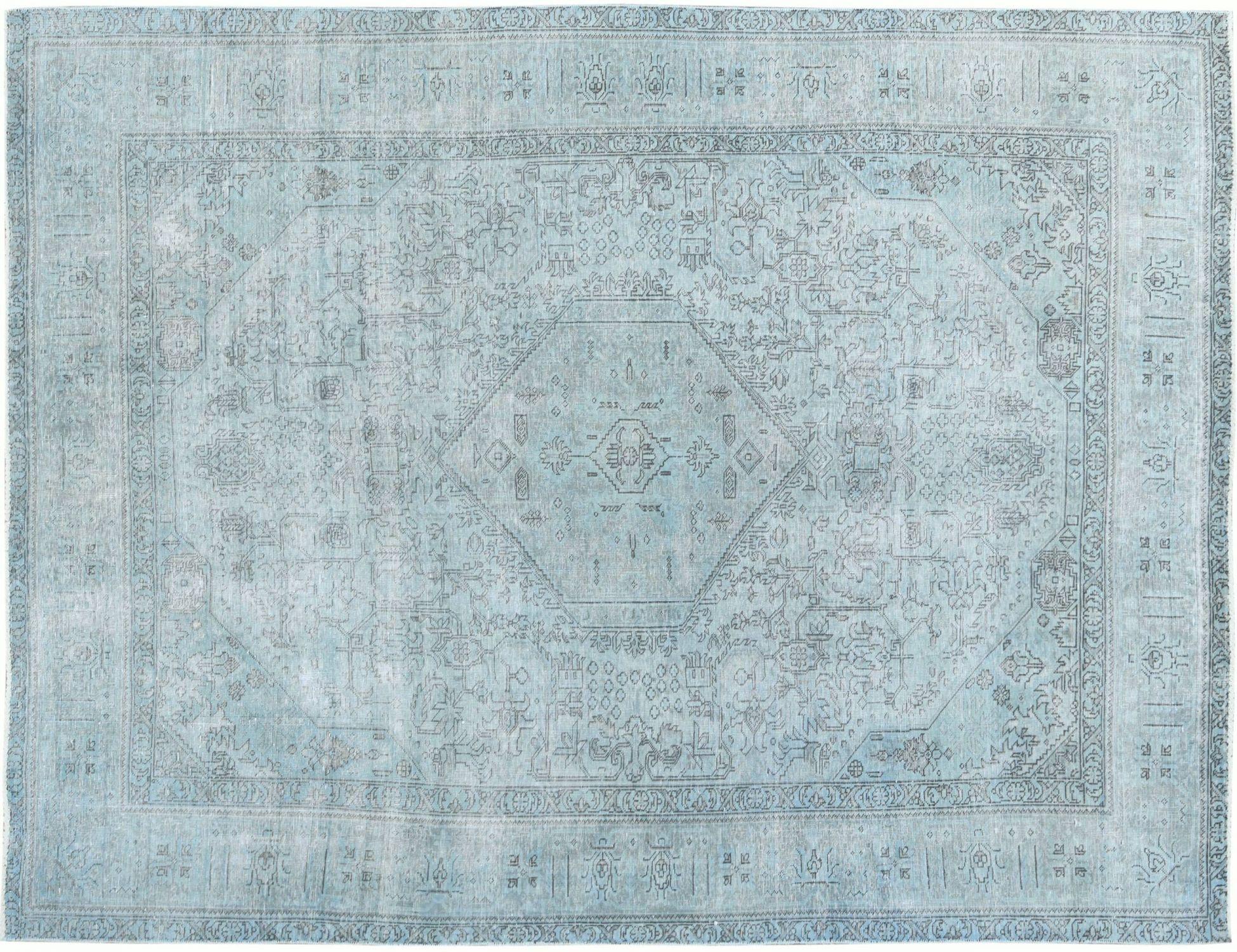 Vintage Teppich  blau <br/>306 x 194 cm