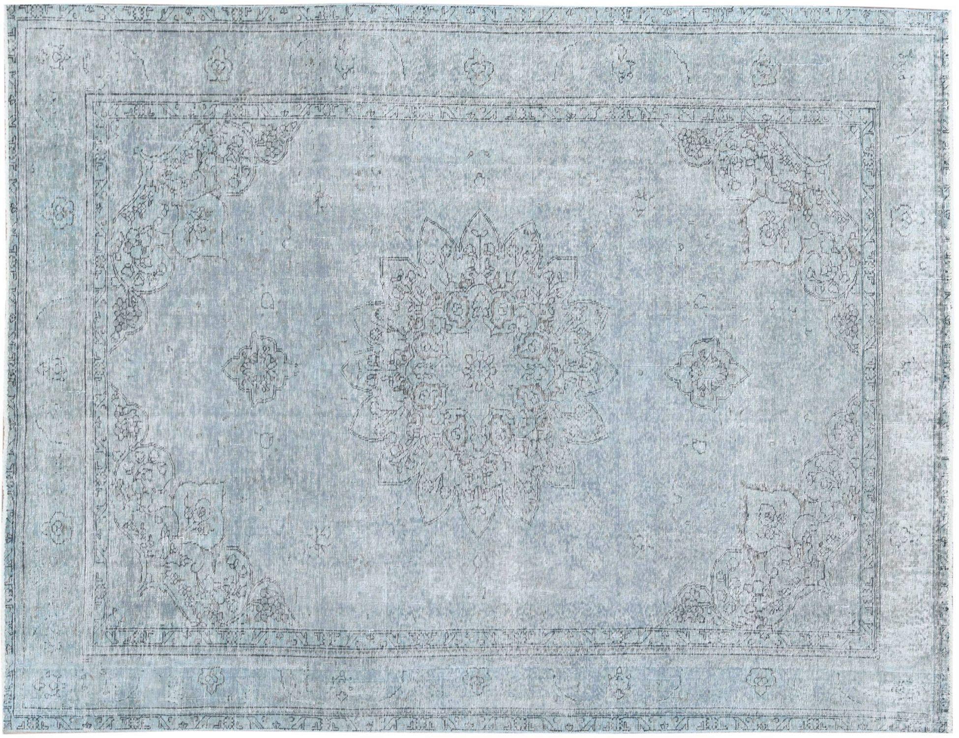 Vintage Tapijt  blauw <br/>293 x 204 cm