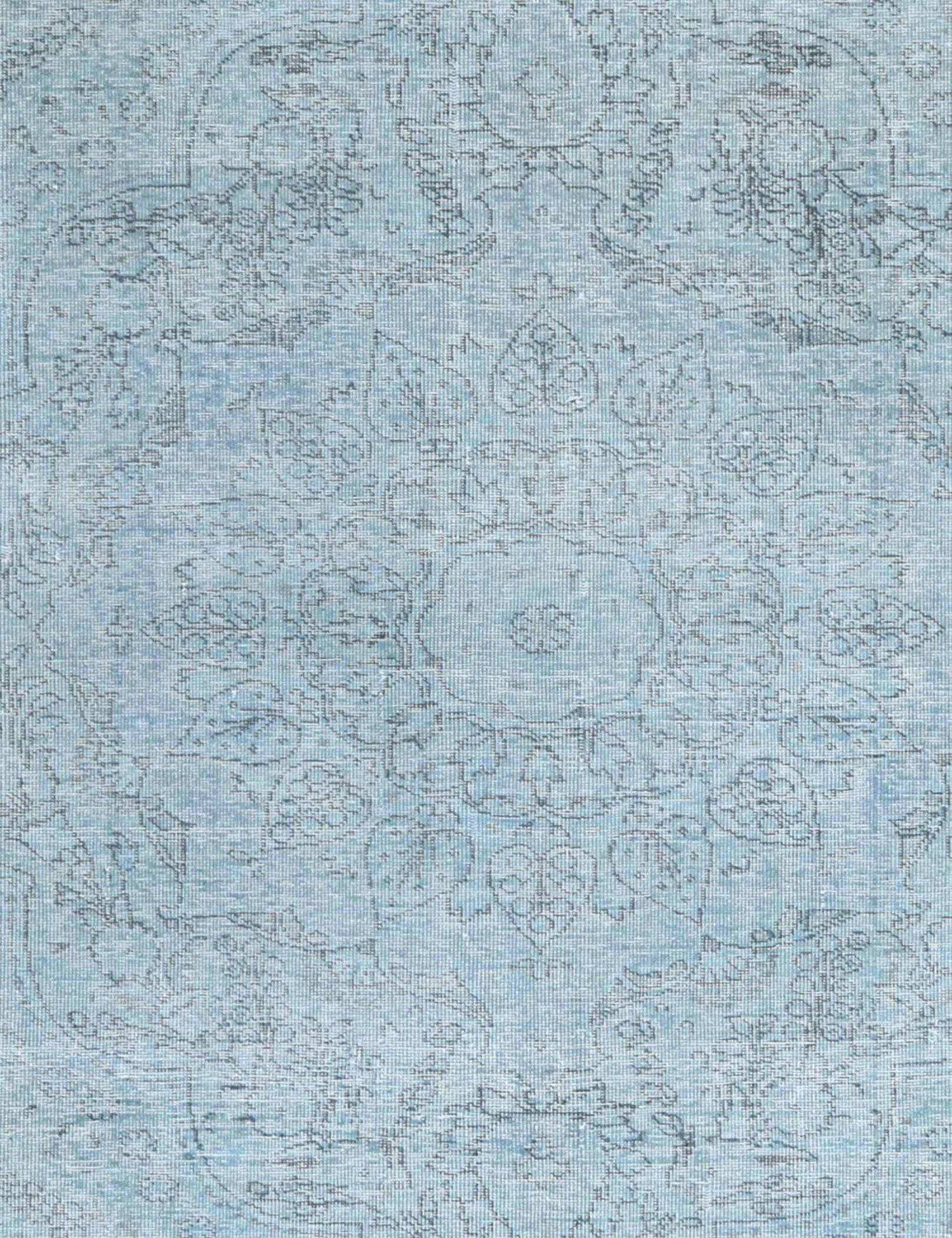 Vintagetæppe  blå <br/>265 x 179 cm