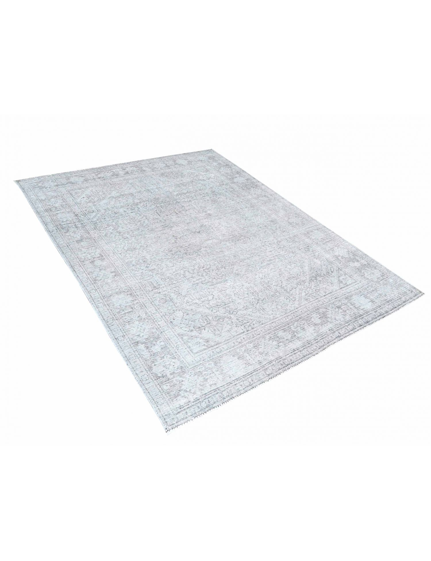 Persischer Vintage Teppich  grau <br/>280 x 199 cm