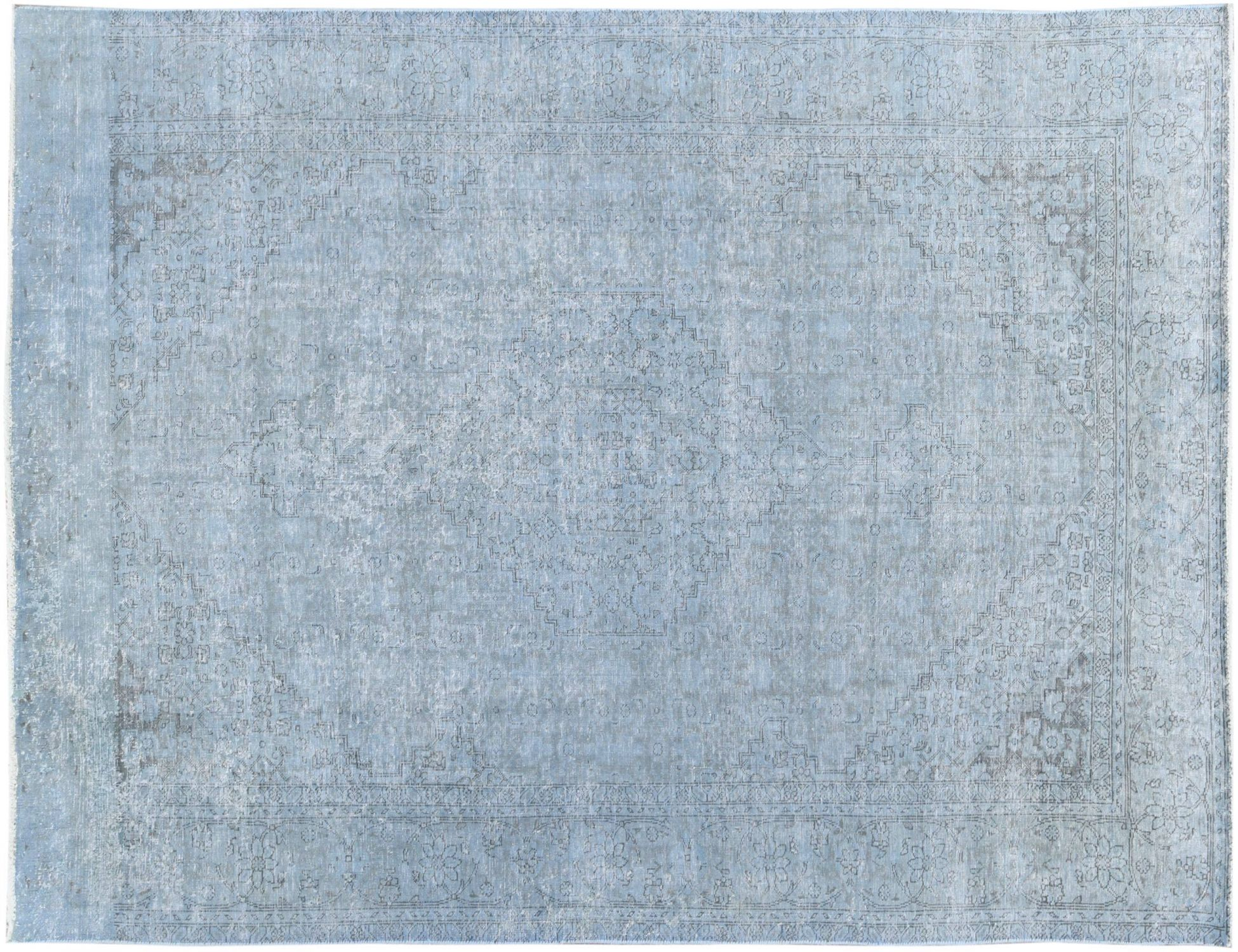 Vintage Tapijt  blauw <br/>305 x 193 cm