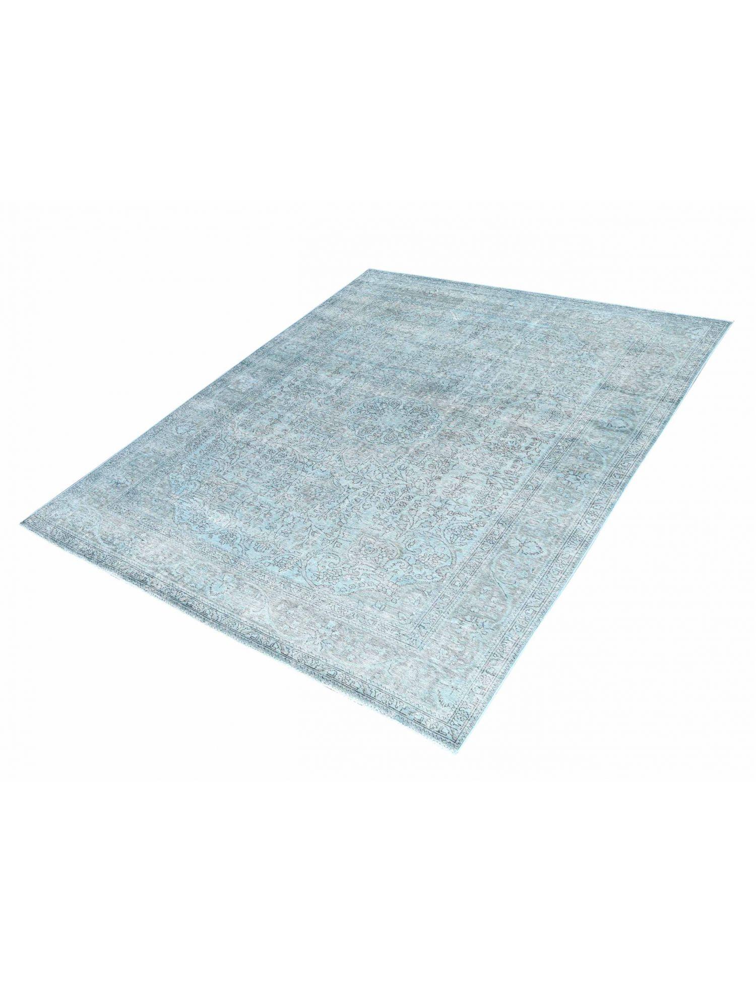 Vintagetæppe  blå <br/>294 x 204 cm