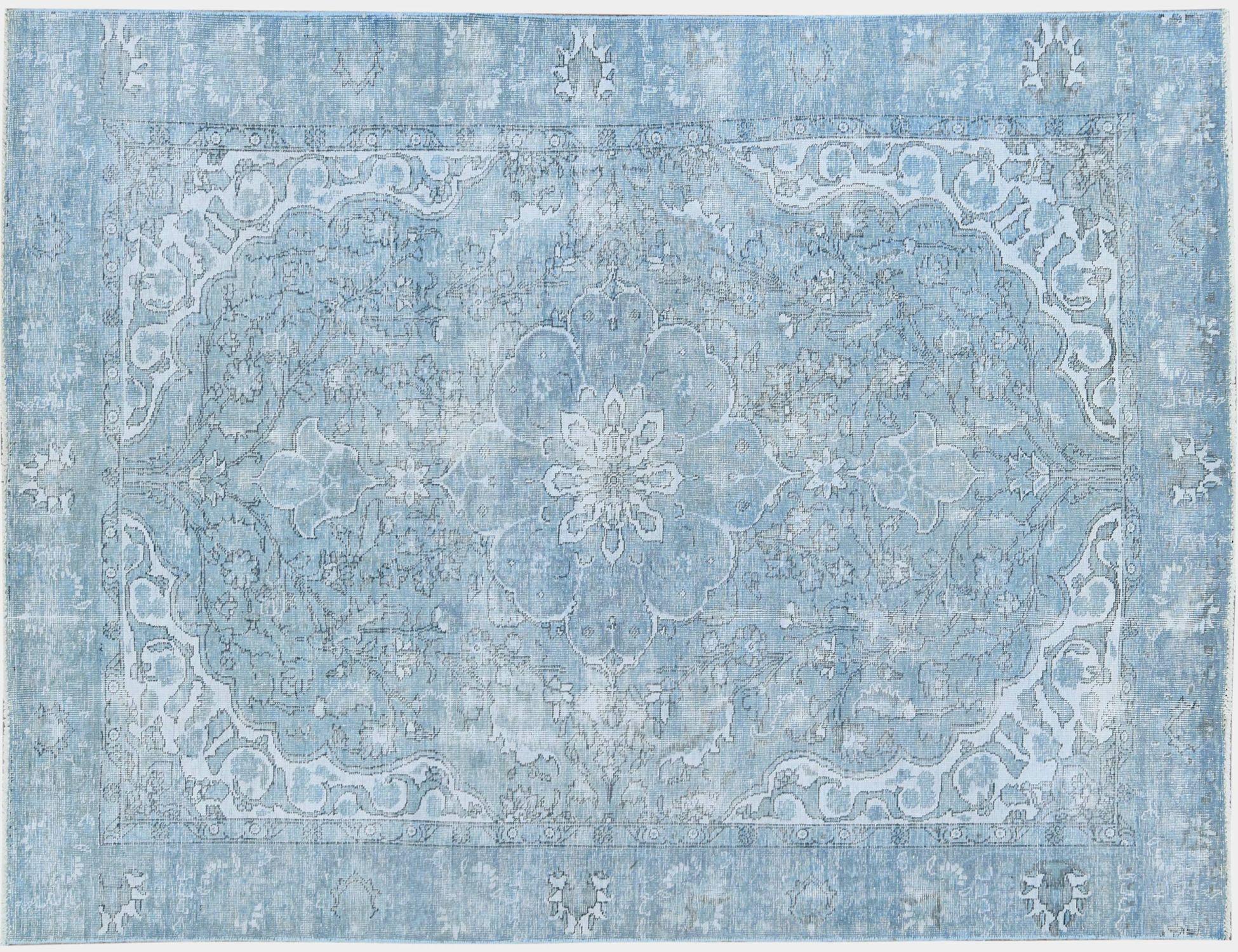 Tappeto Vintage  blu <br/>279 x 183 cm