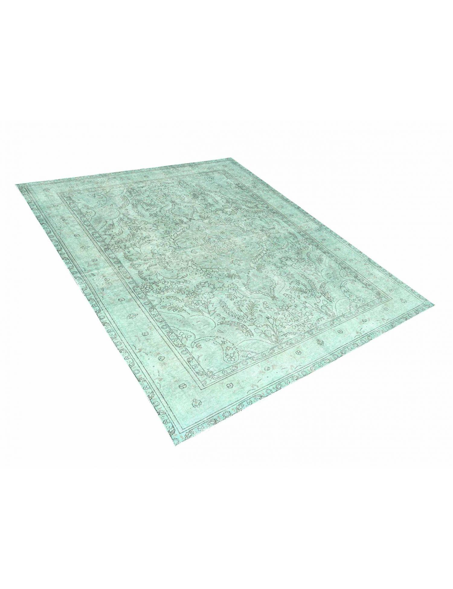 Vintage Tapijt  groen <br/>291 x 204 cm