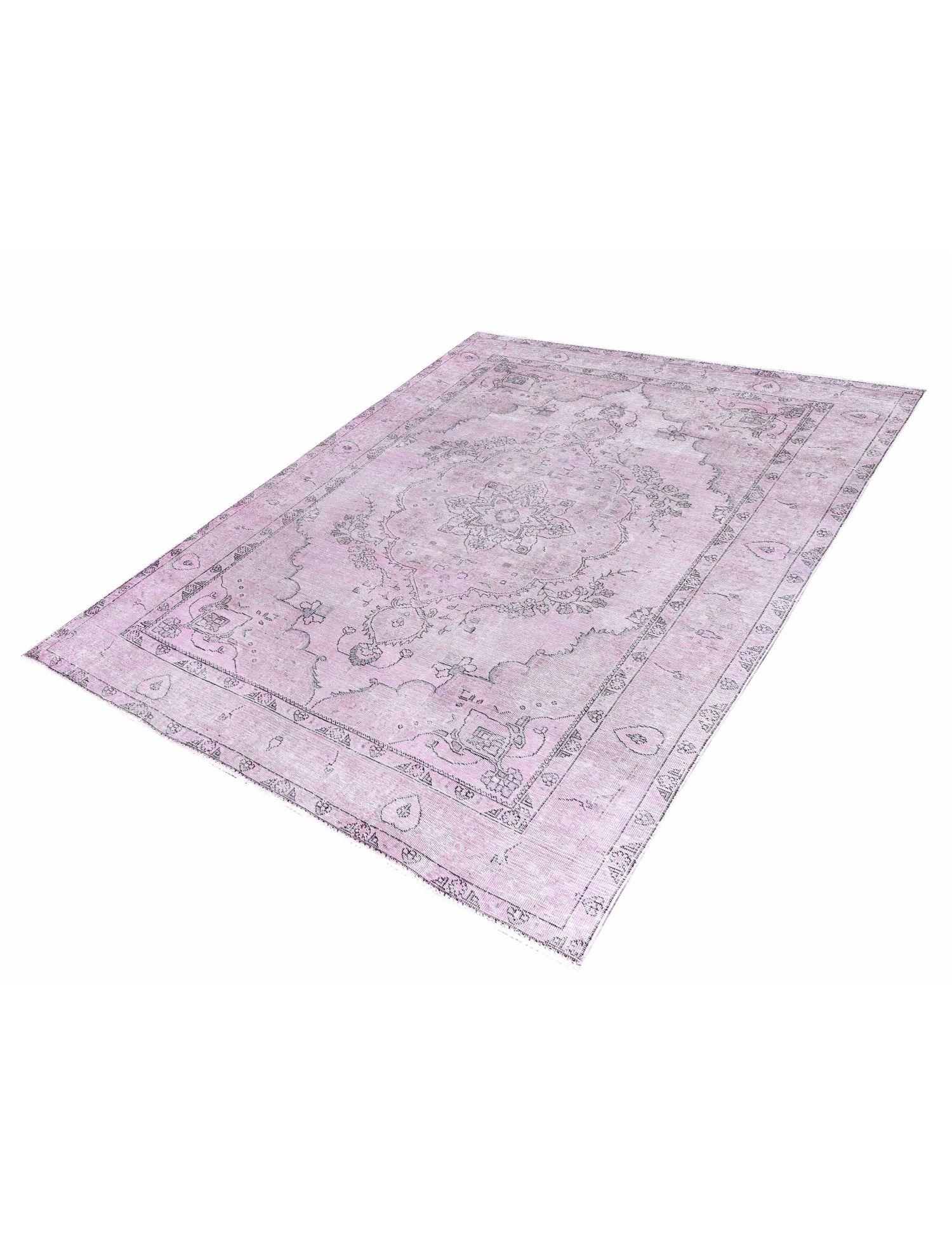 Perzisch Vintage Tapijt  roze <br/>290 x 193 cm