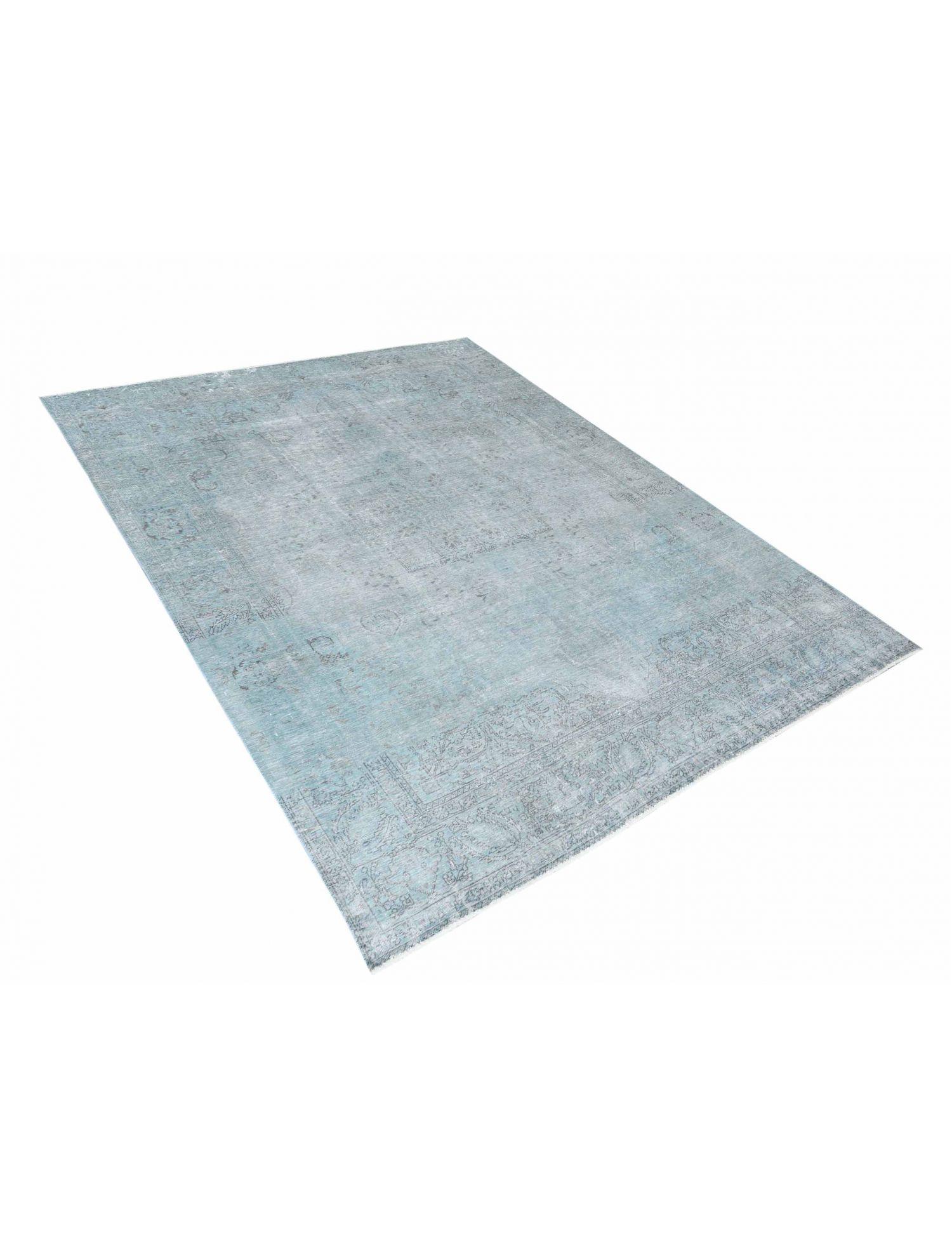 Vintagetæppe  blå <br/>325 x 256 cm