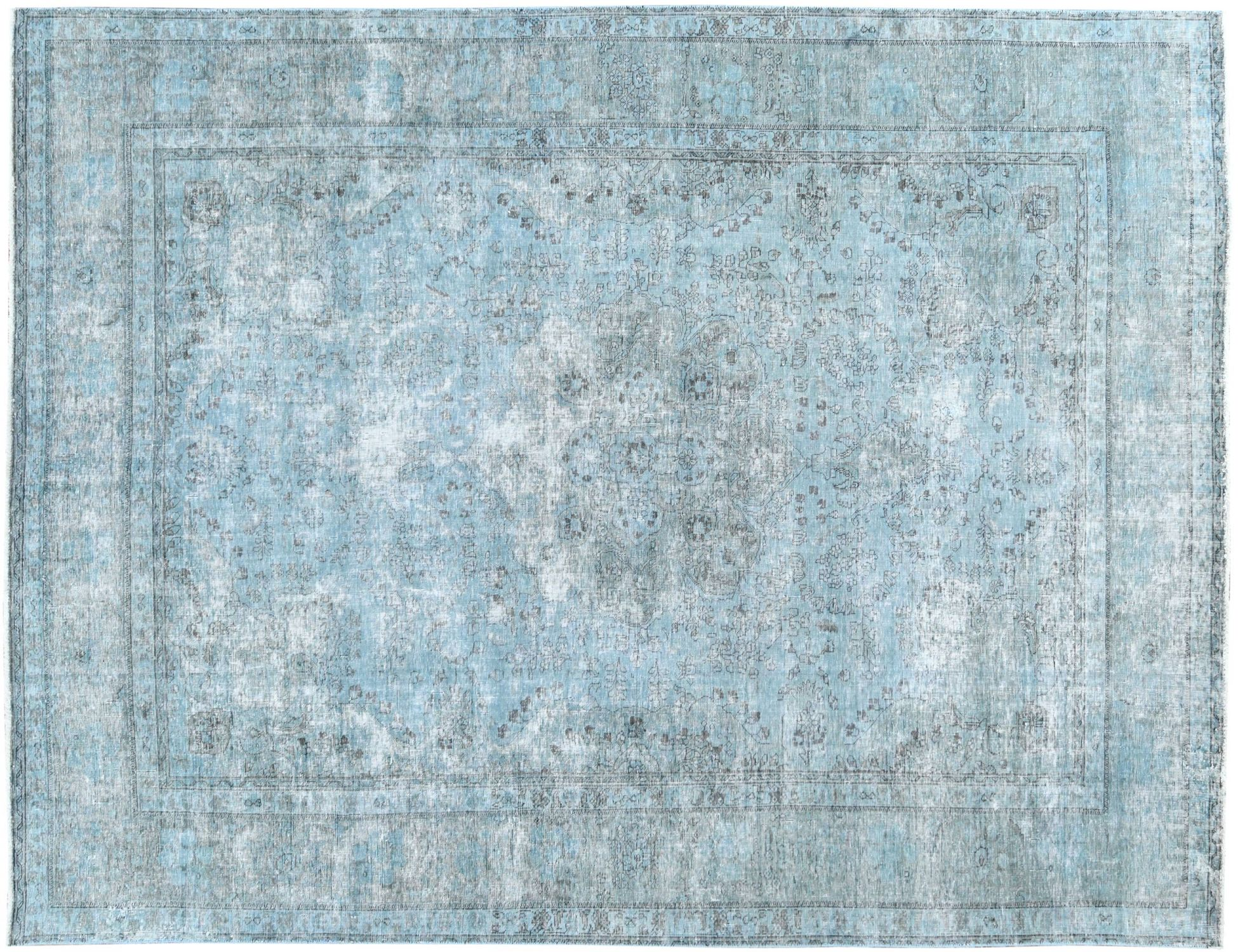 Vintage Tapijt  blauw <br/>354 x 244 cm