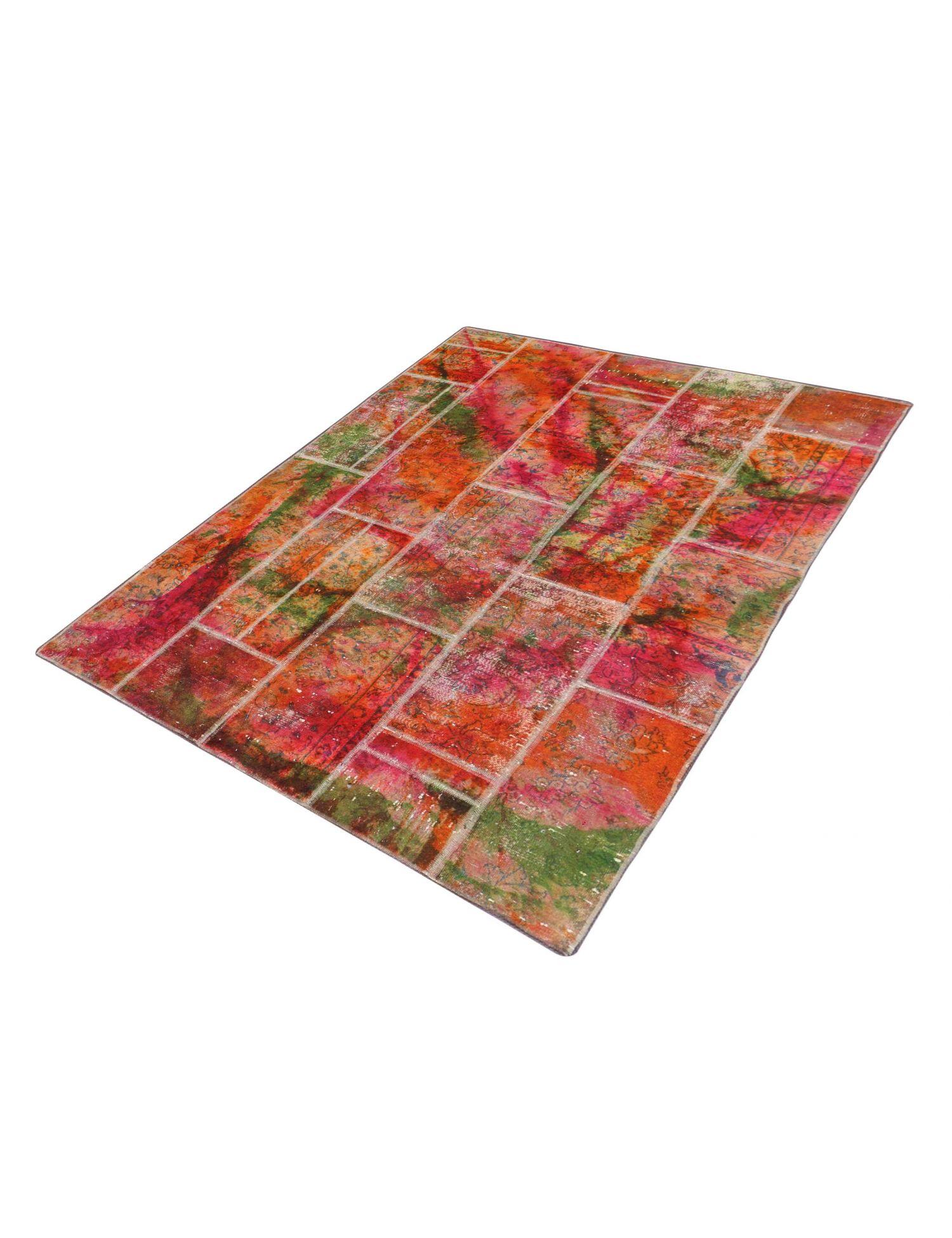 Persian Patchwork Carpet  multicolor  <br/>210 x 146 cm