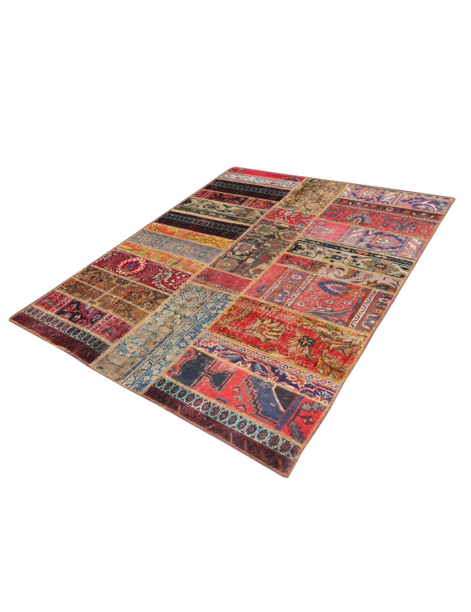 Persian Patchwork Carpet  multicolor  <br/>210 x 144 cm