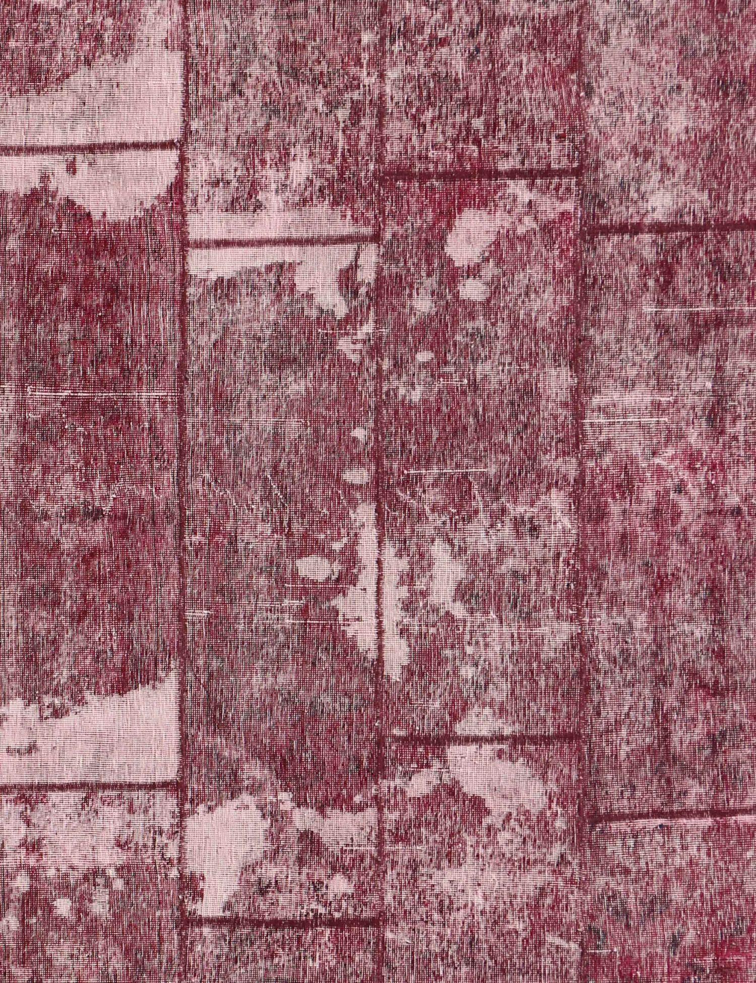 Perzisch Patchwork Tapijt  rood <br/>265 x 178 cm