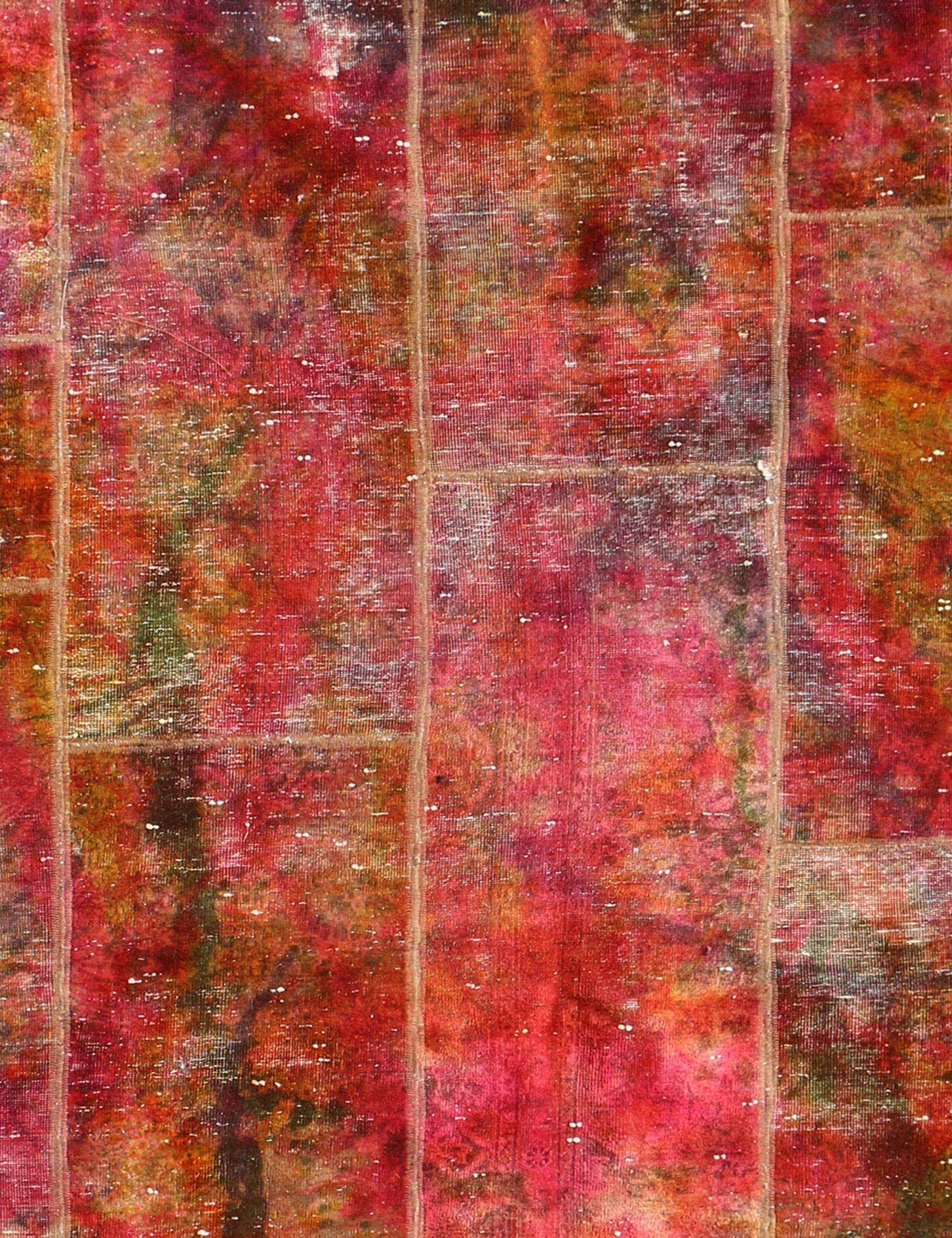 Persisk patchwork tæppe  multifarvet <br/>312 x 200 cm
