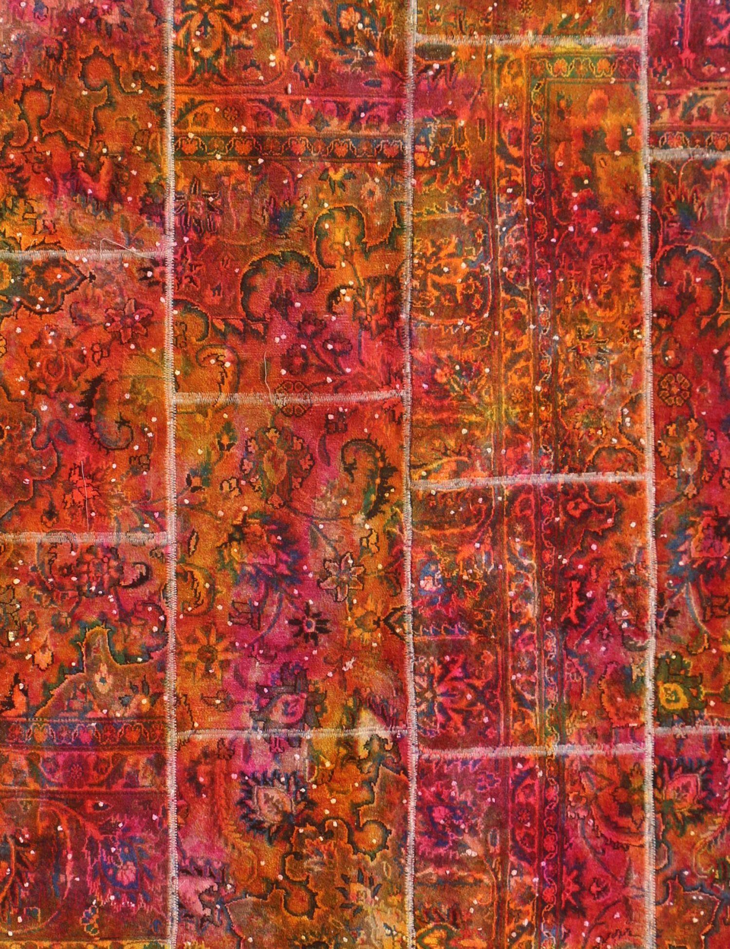 Patchwork Tapijt  multi kleur <br/>180 x 180 cm
