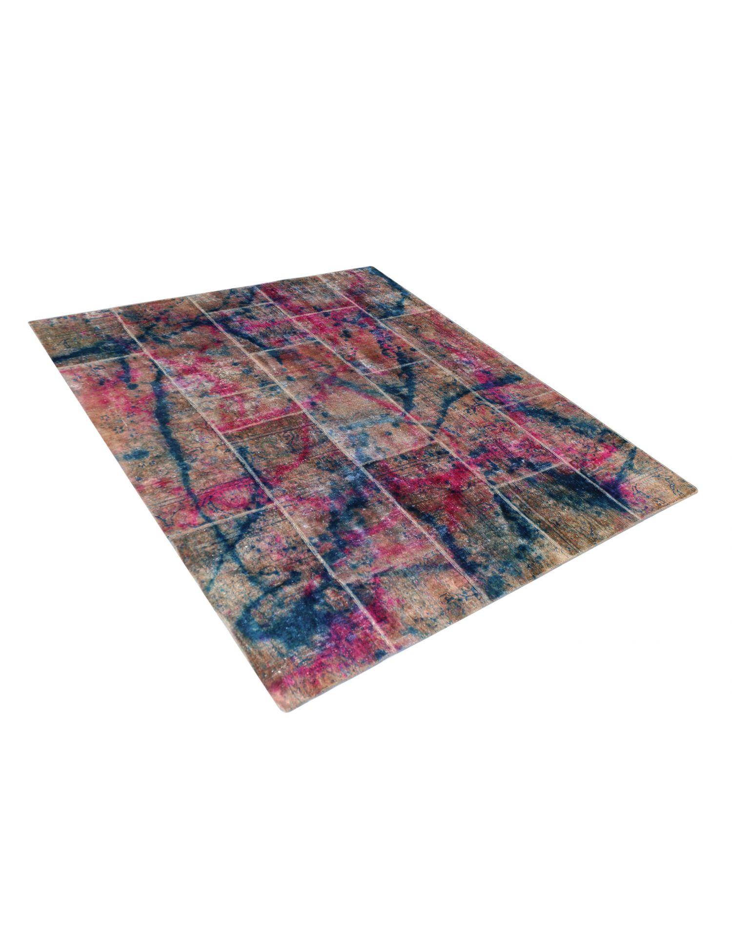 Persian Patchwork Carpet  multicolor  <br/>240 x 221 cm