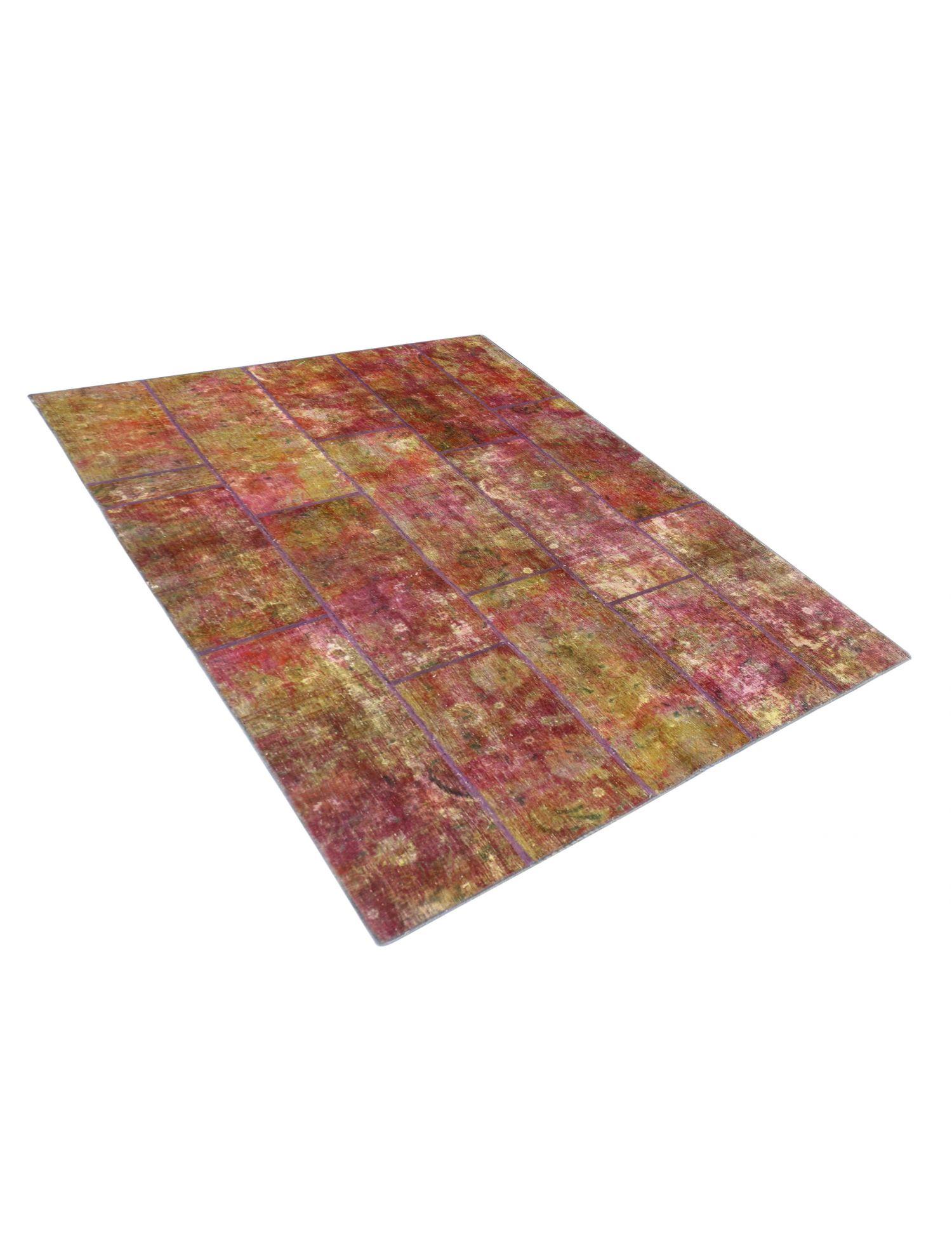 Patchwork Carpet  multicolor  <br/>270 x 177 cm