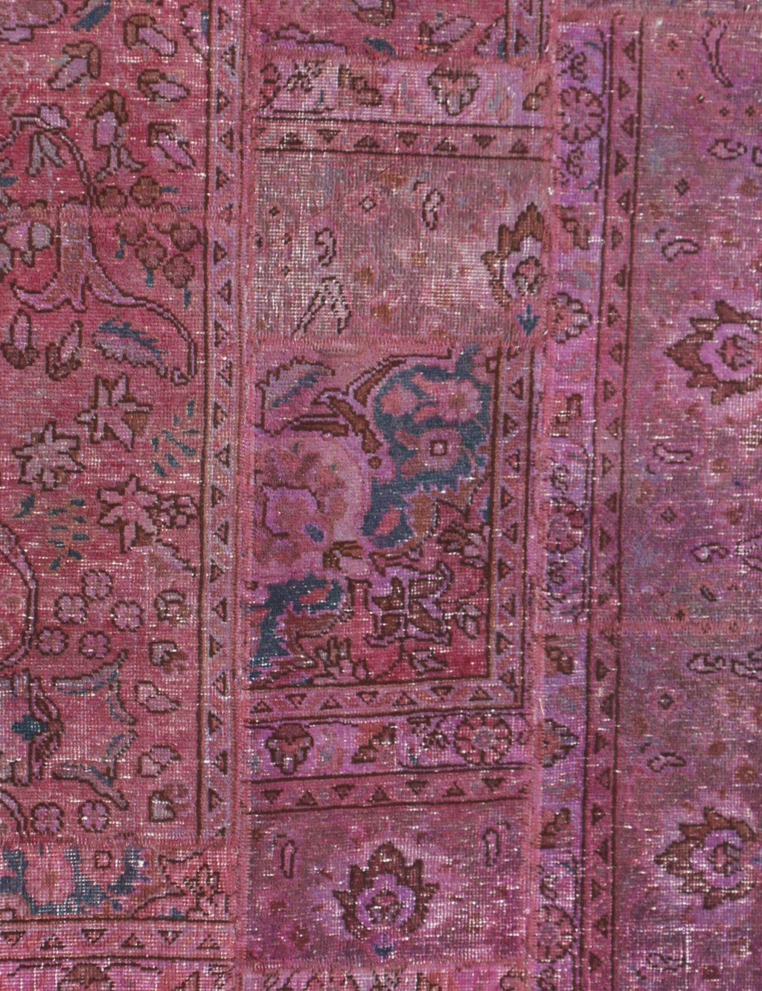 Persischer patchwork Teppich  lila <br/>175 x 85 cm
