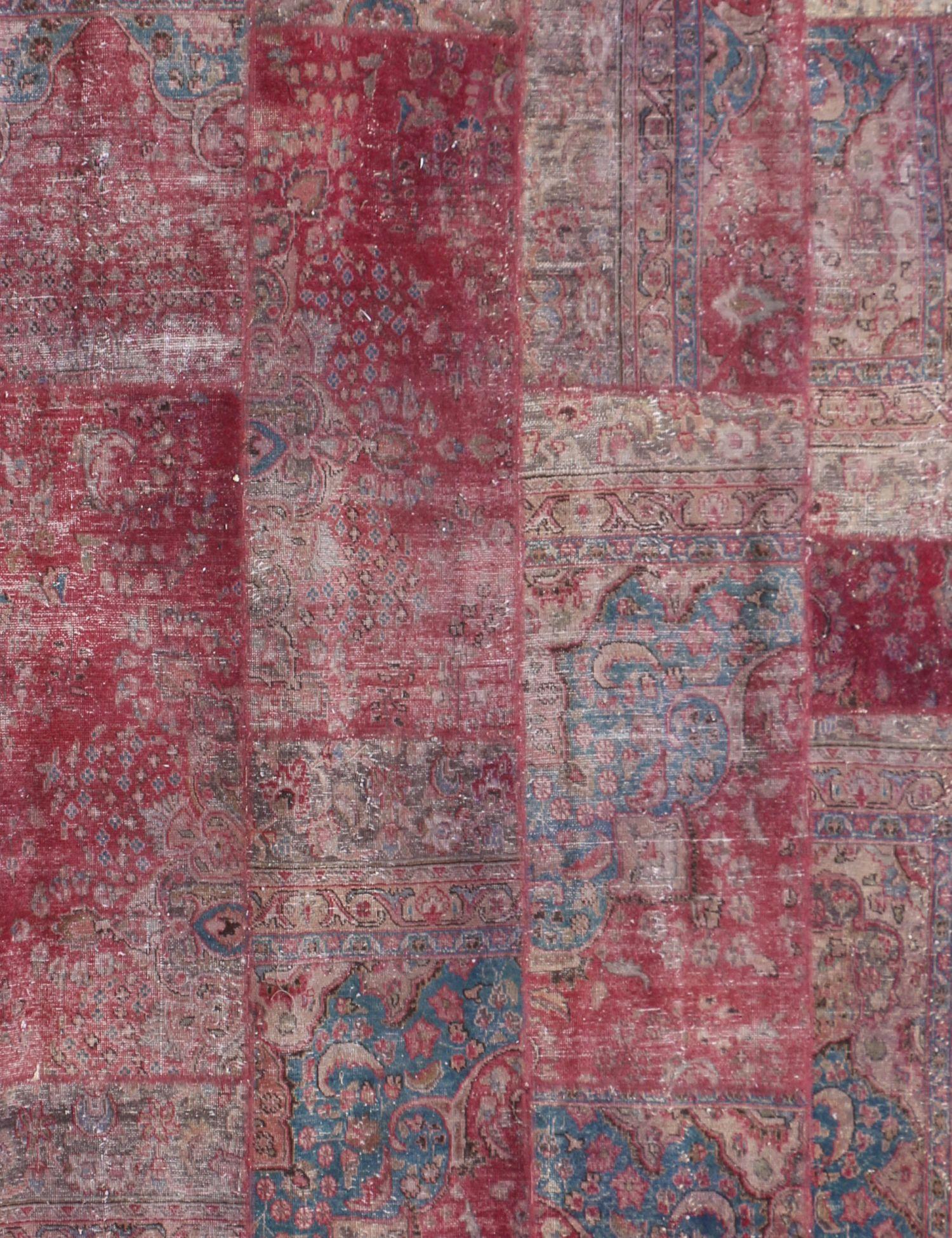 Patchwork Tapijt  purper <br/>250 x 245 cm