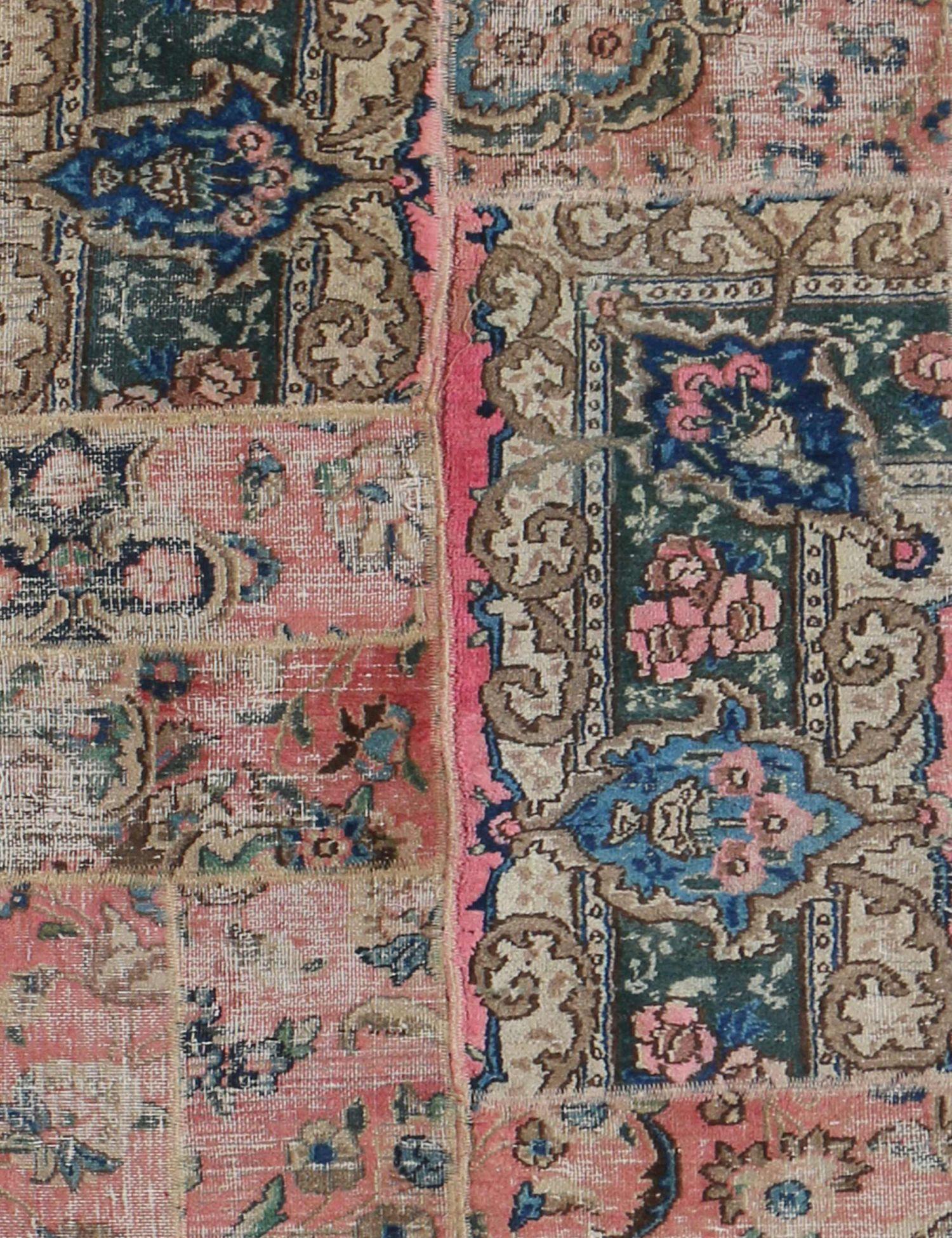 Perzisch Patchwork Tapijt  multi kleur <br/>322 x 80 cm