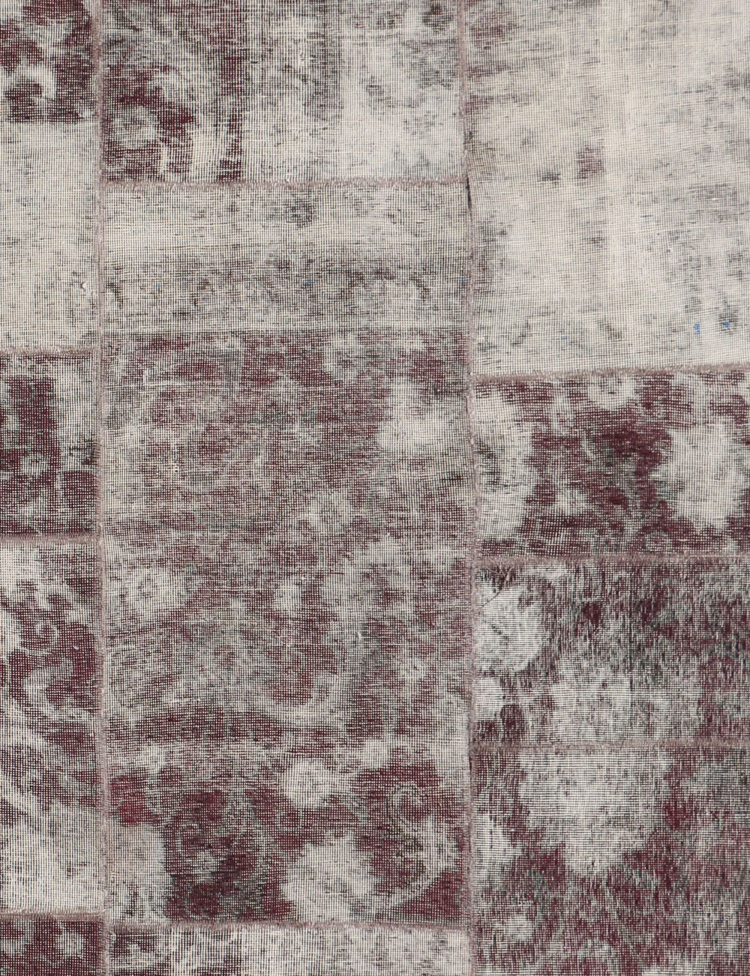 Tappeto Patchwork  viola <br/>224 x 147 cm