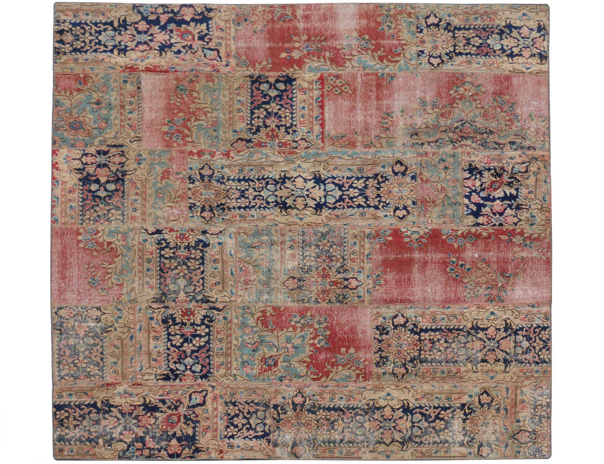 Patchwork Tapijt  multi kleur <br/>267 x 251 cm