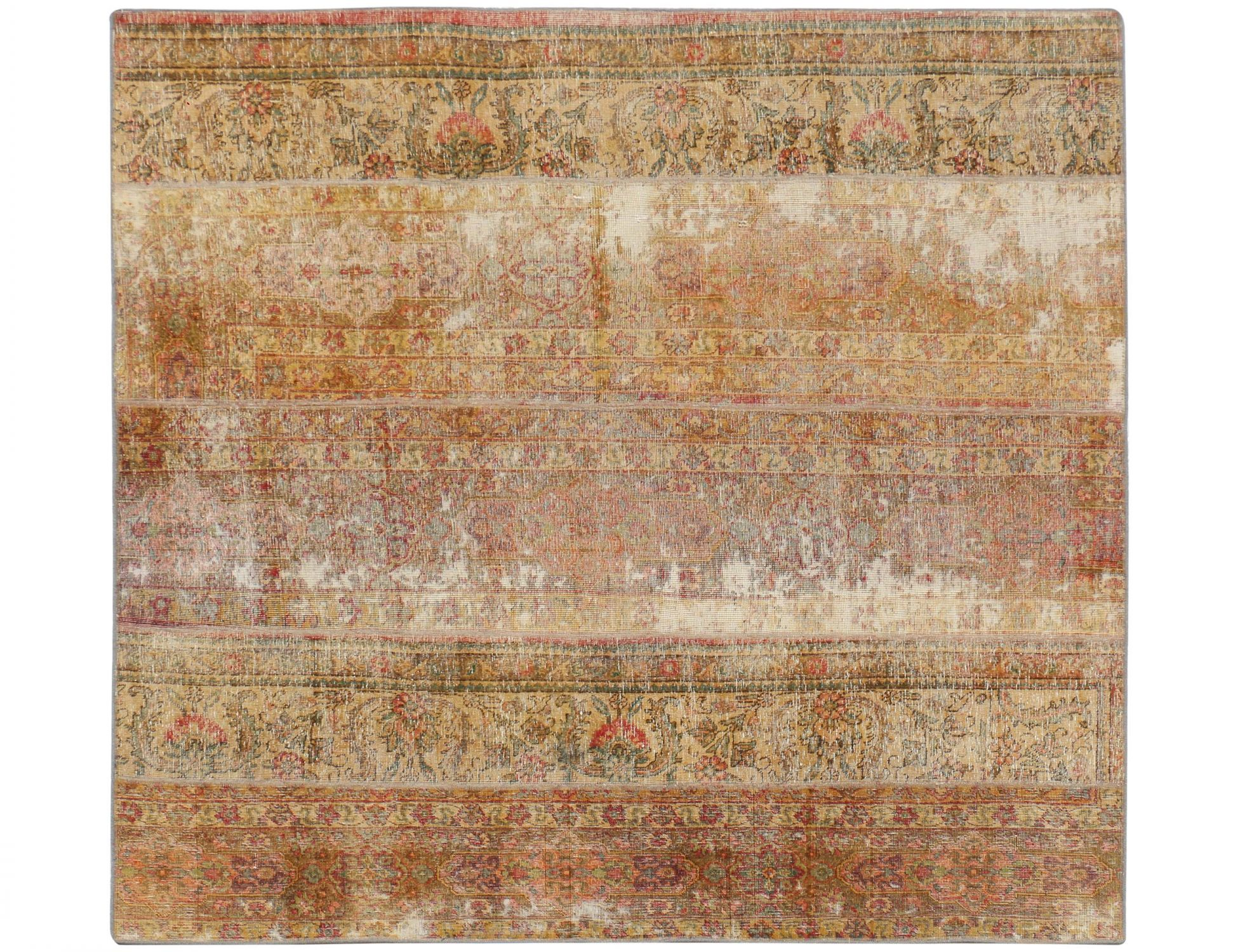 Tappeto Patchwork  beige <br/>207 x 211 cm
