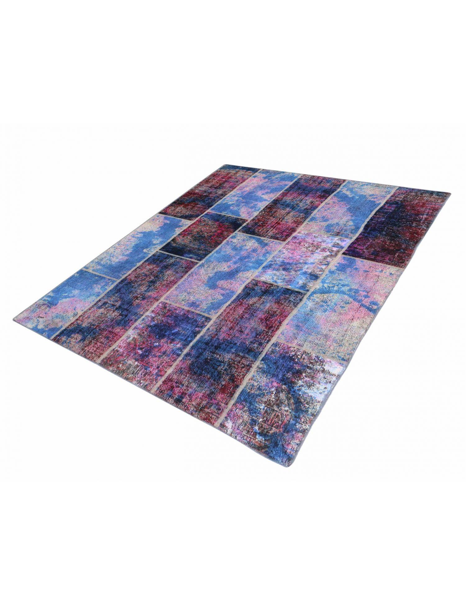 Patchwork Teppich  mehrfarbig <br/>280 x 170 cm