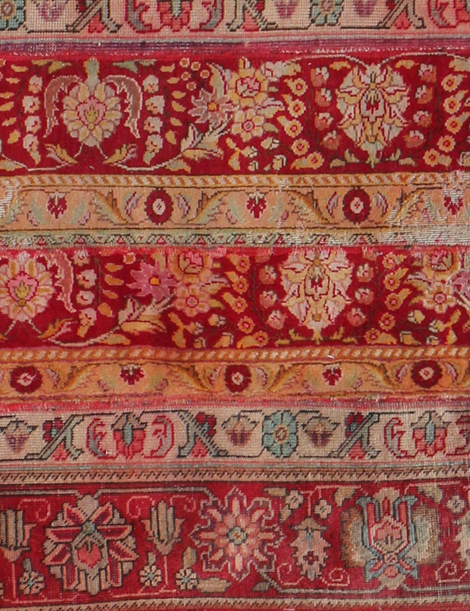 Patchwork tæppe  multifarvet <br/>390 x 90 cm