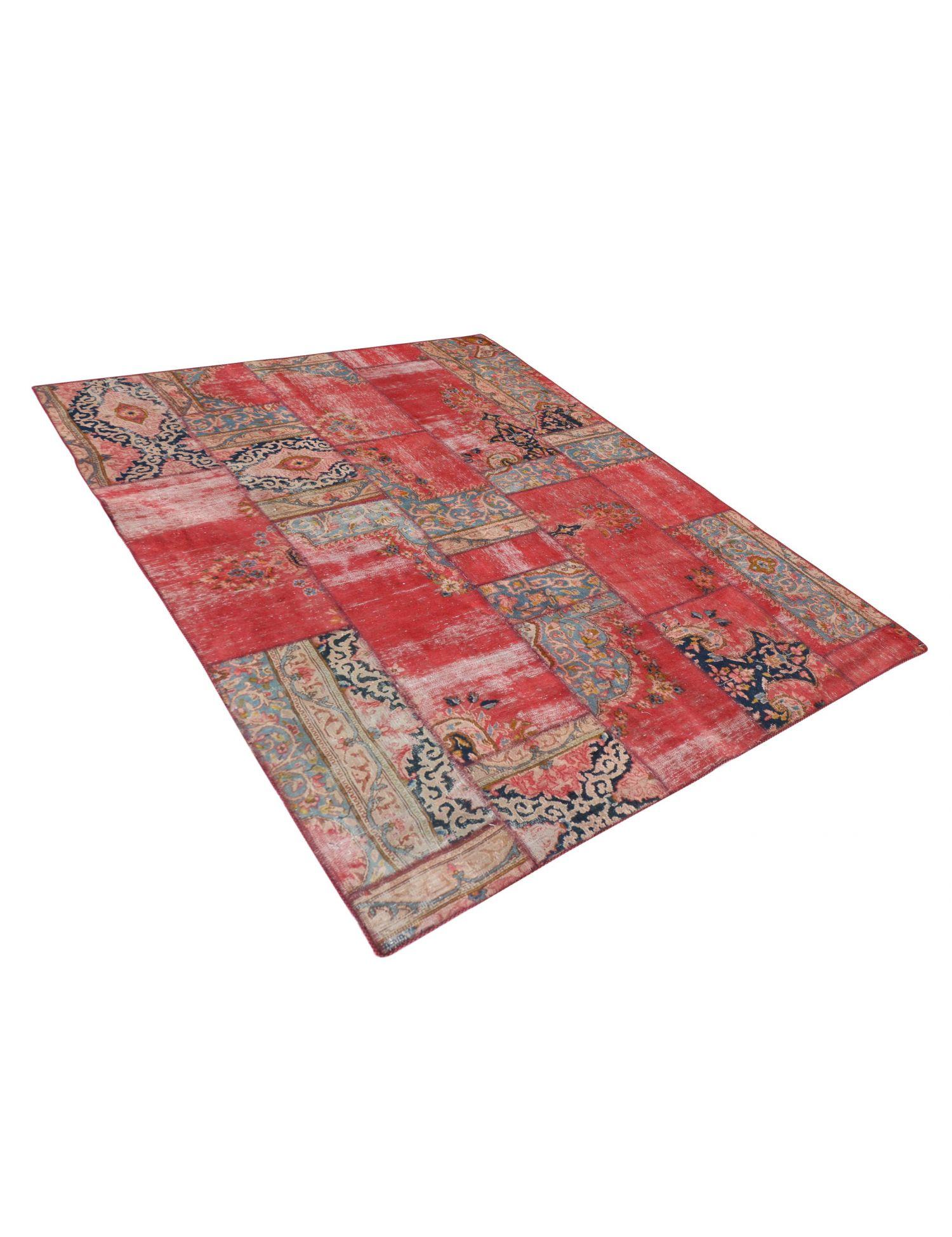 Persischer patchwork Teppich  mehrfarbig <br/>244 x 194 cm