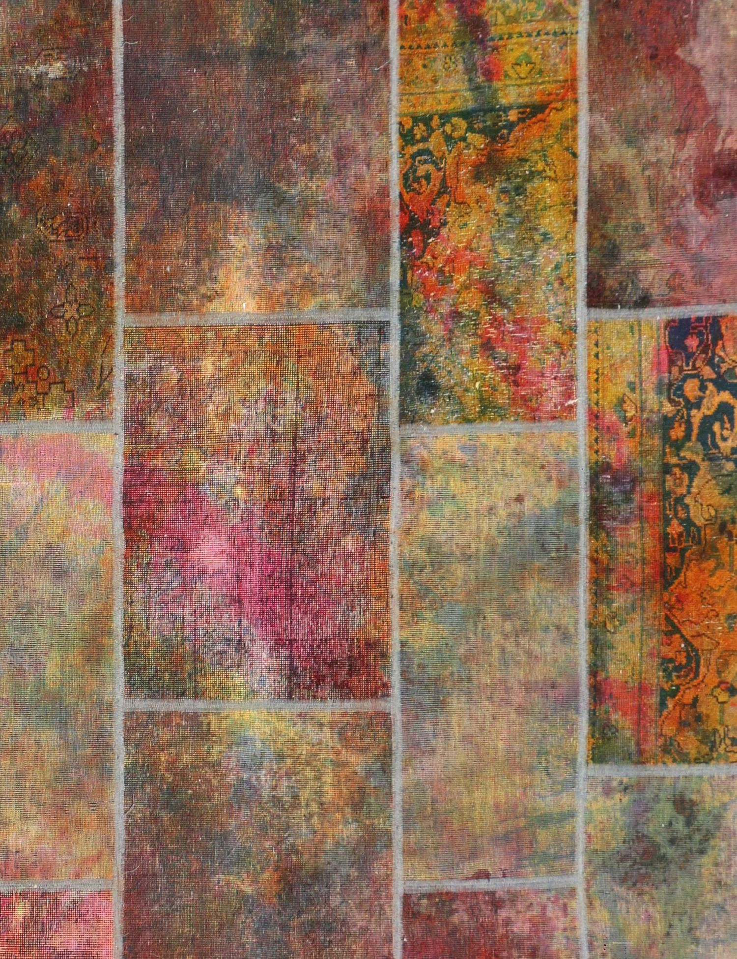 Perzisch Patchwork Tapijt  multi kleur <br/>260 x 187 cm