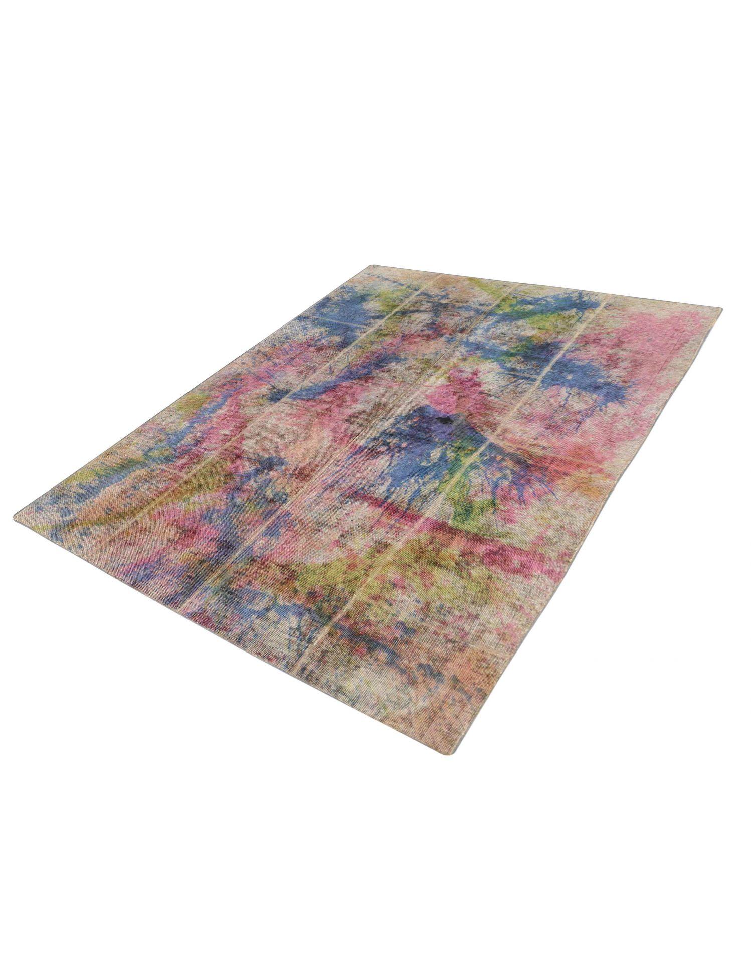 Persischer patchwork Teppich  mehrfarbig <br/>246 x 160 cm