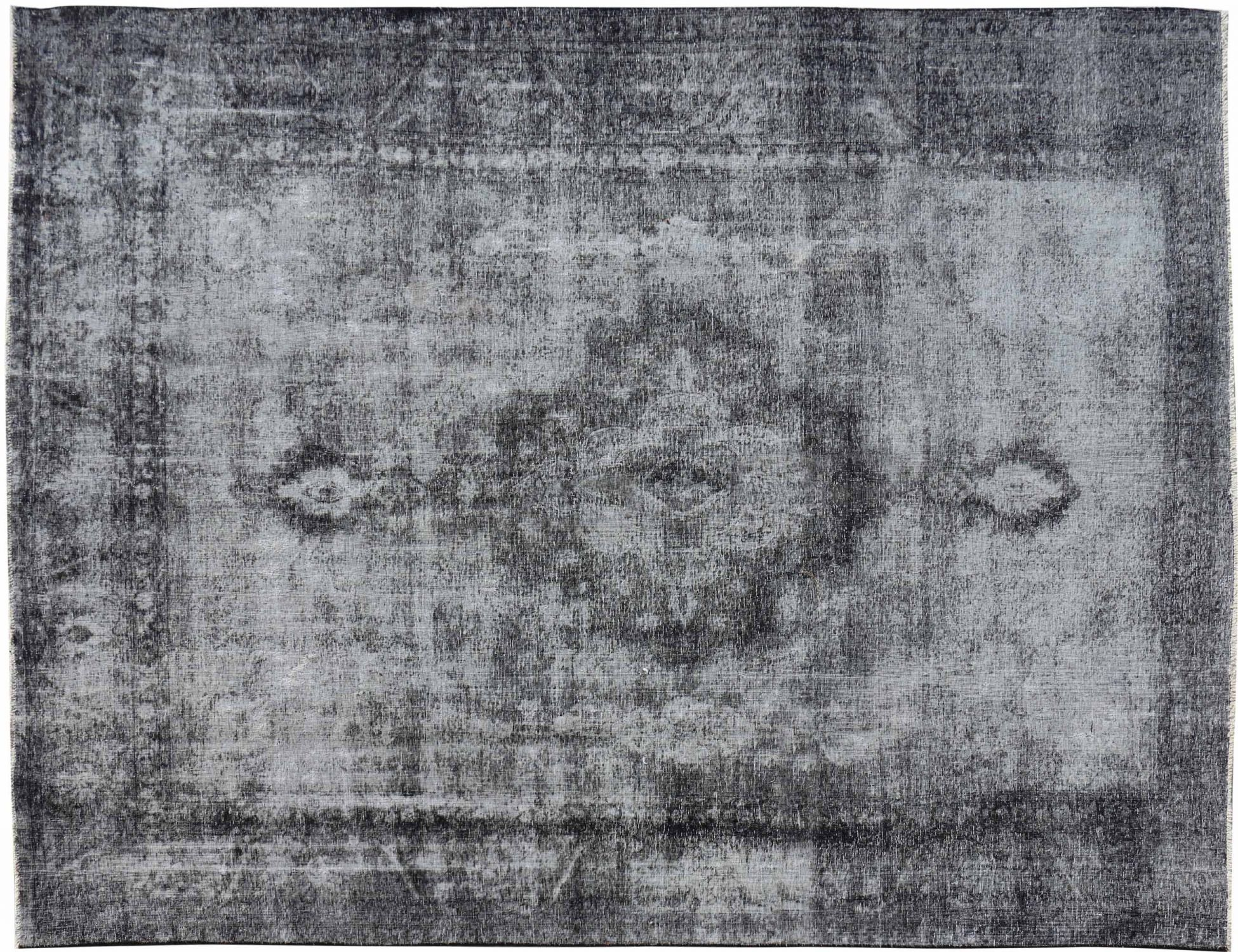 Persischer Vintage Teppich  schwarz <br/>376 x 270 cm