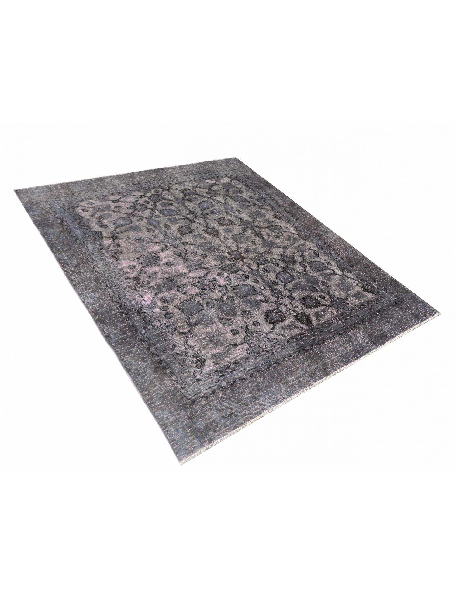 Persischer Vintage Teppich  grau <br/>240 x 162 cm