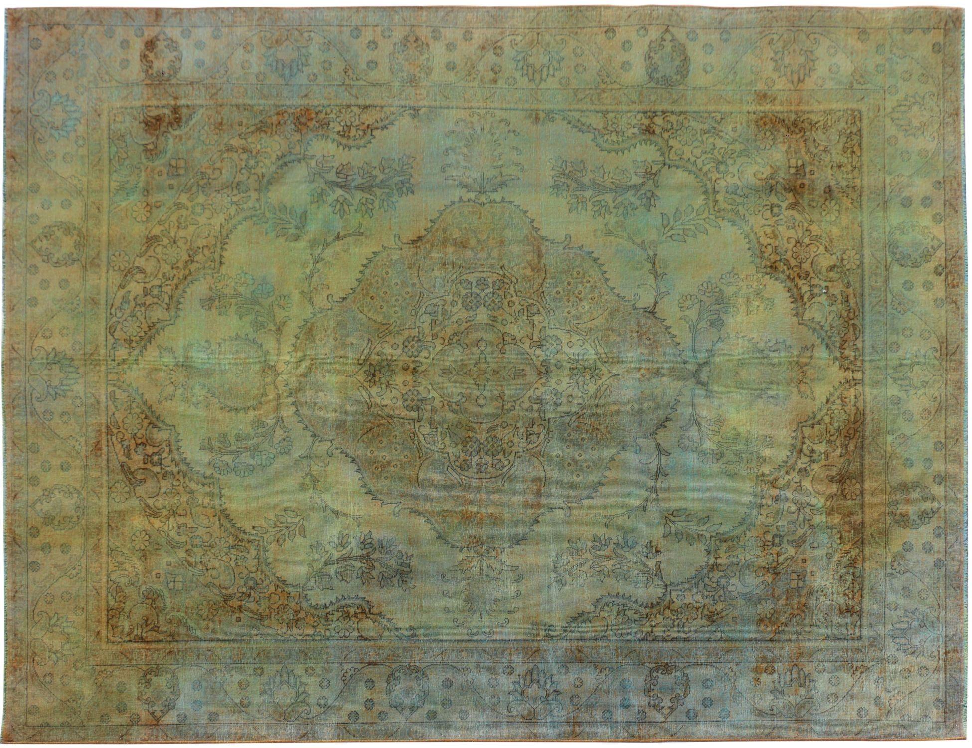 Tappeto Vintage  verde <br/>383 x 286 cm