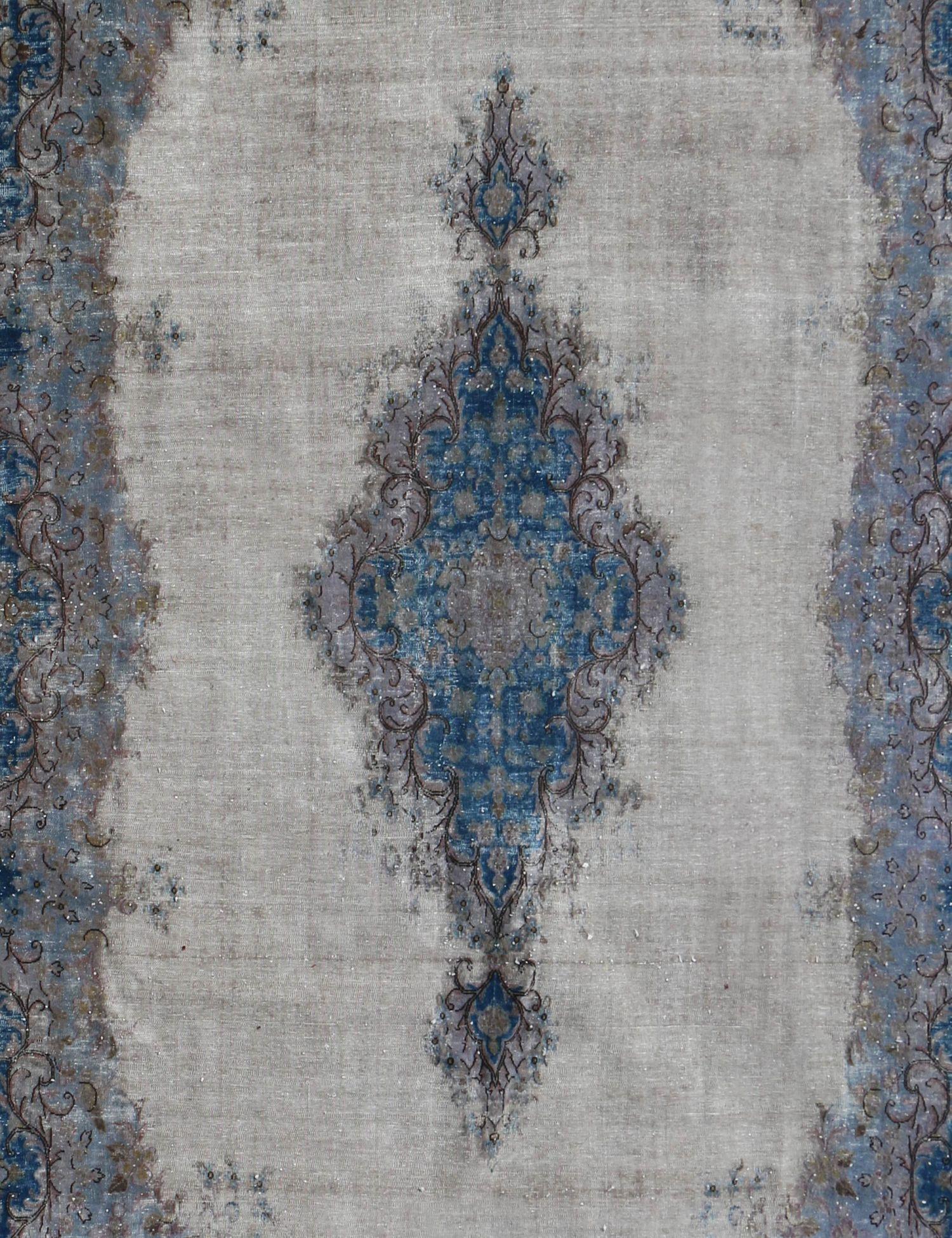 Persischer Vintage Teppich  blau <br/>365 x 268 cm