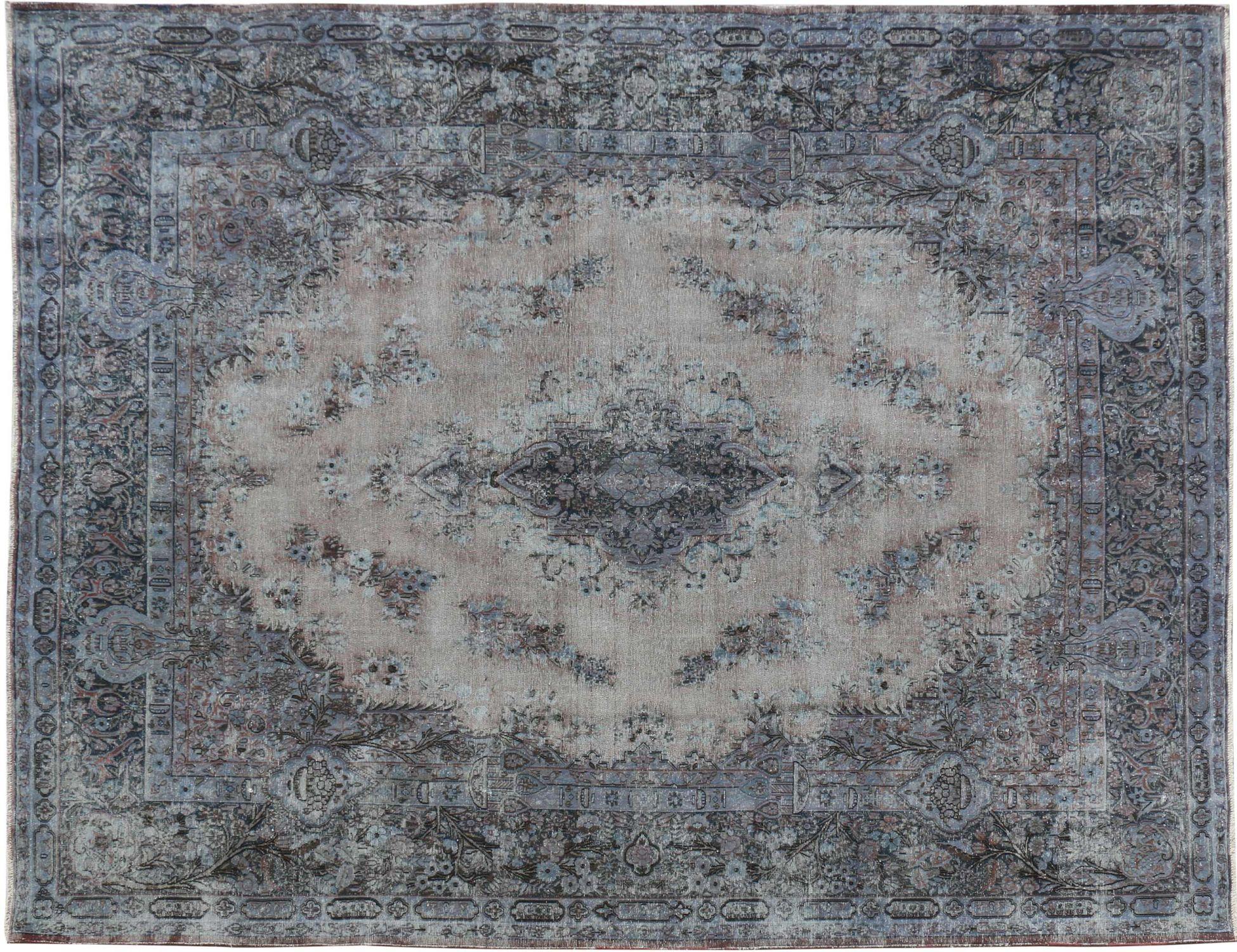 Persischer Vintage Teppich  blau <br/>396 x 298 cm
