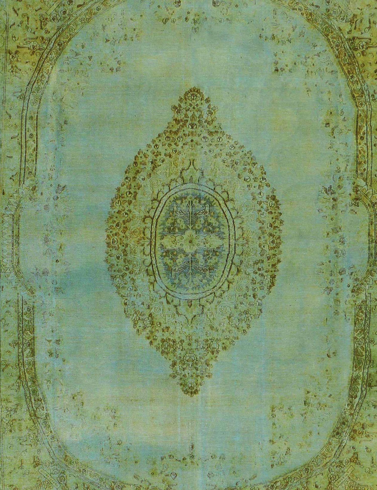 Tappeto Vintage  verde <br/>495 x 343 cm