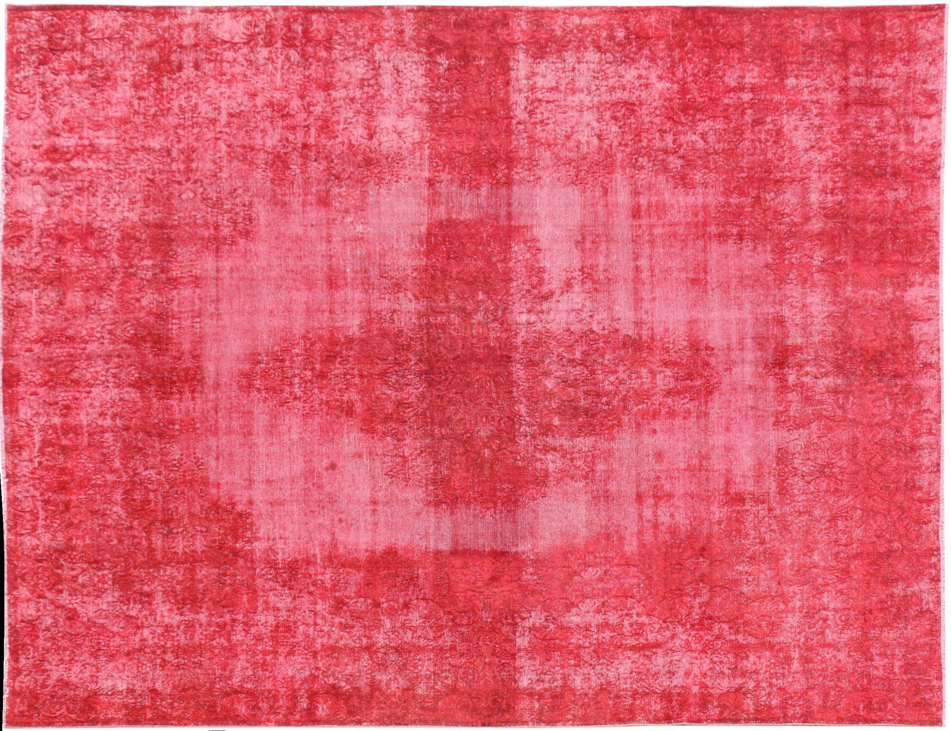 Persischer Vintage Teppich  rot <br/>389 x 286 cm