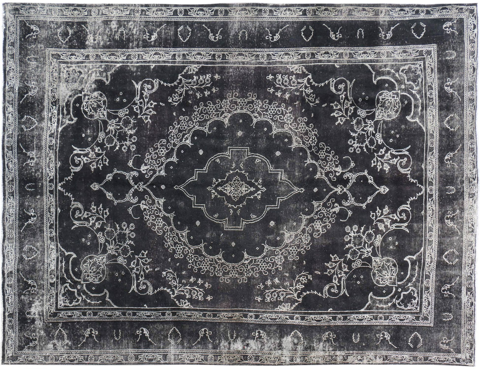 Tappeto Vintage  nero <br/>395 x 300 cm