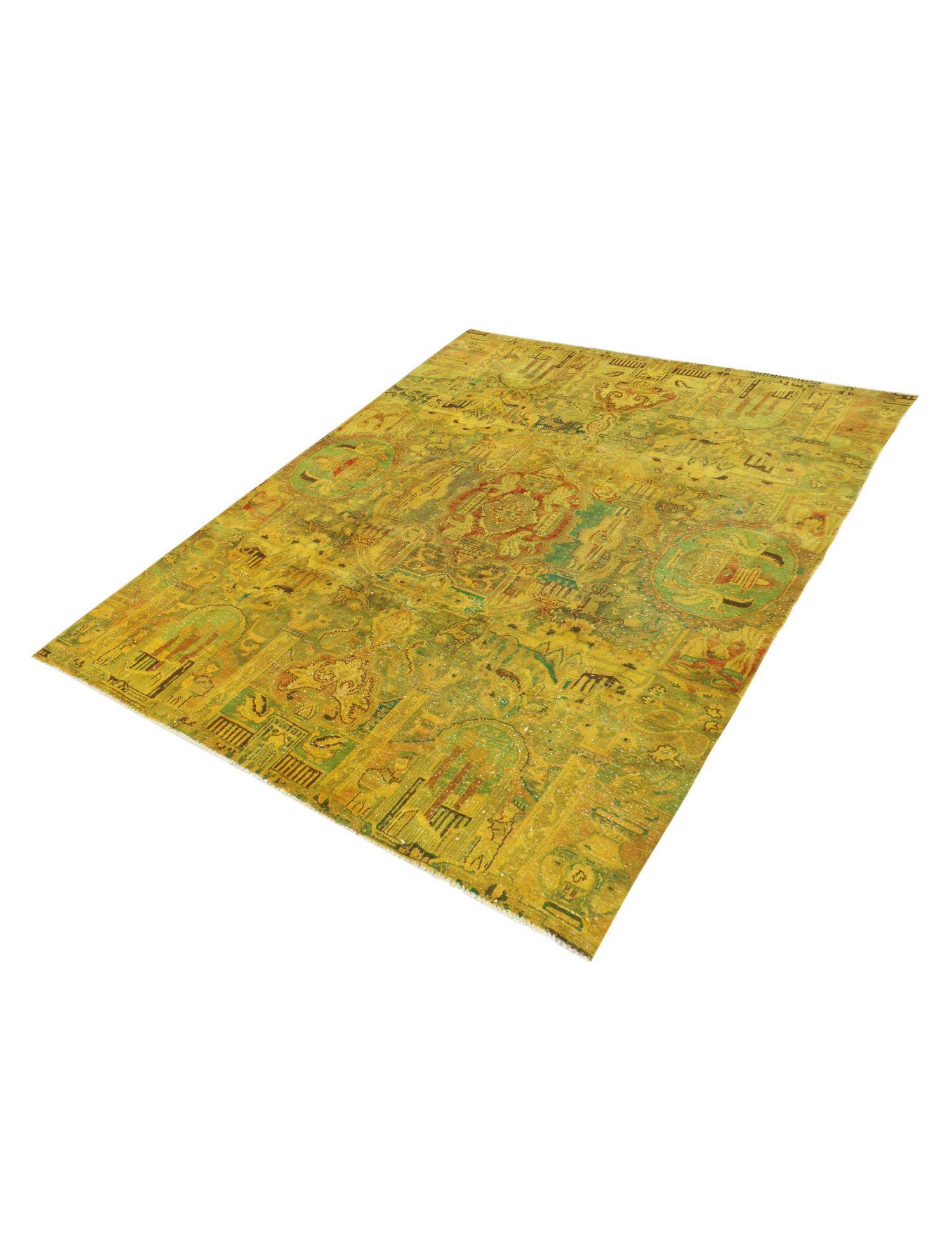 Persischer Vintage Teppich  gelb <br/>293 x 198 cm