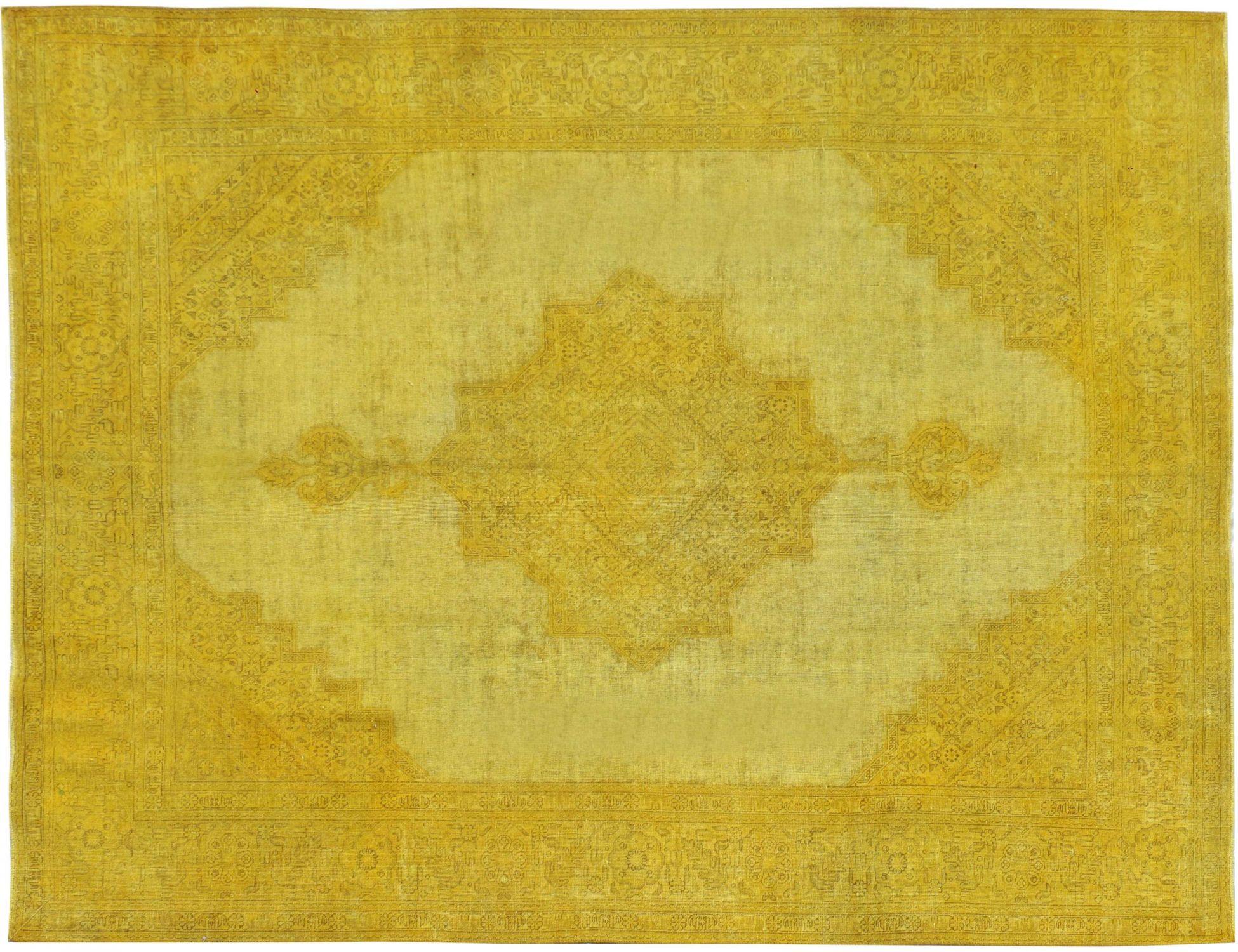Tappeto Vintage  giallo <br/>315 x 247 cm
