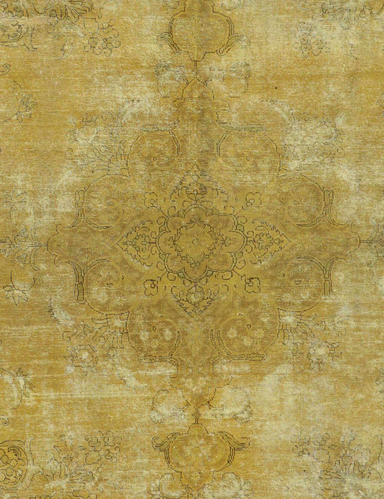 Tappeto vintage persiano  giallo <br/>327 x 227 cm