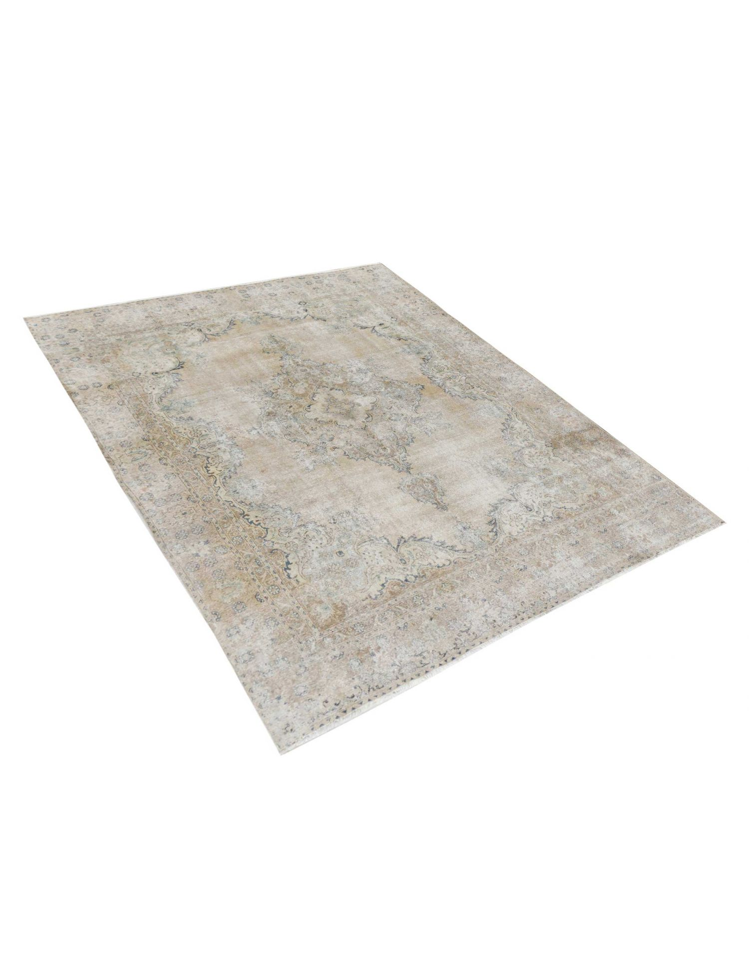 Persischer Vintage Teppich  beige <br/>372 x 284 cm