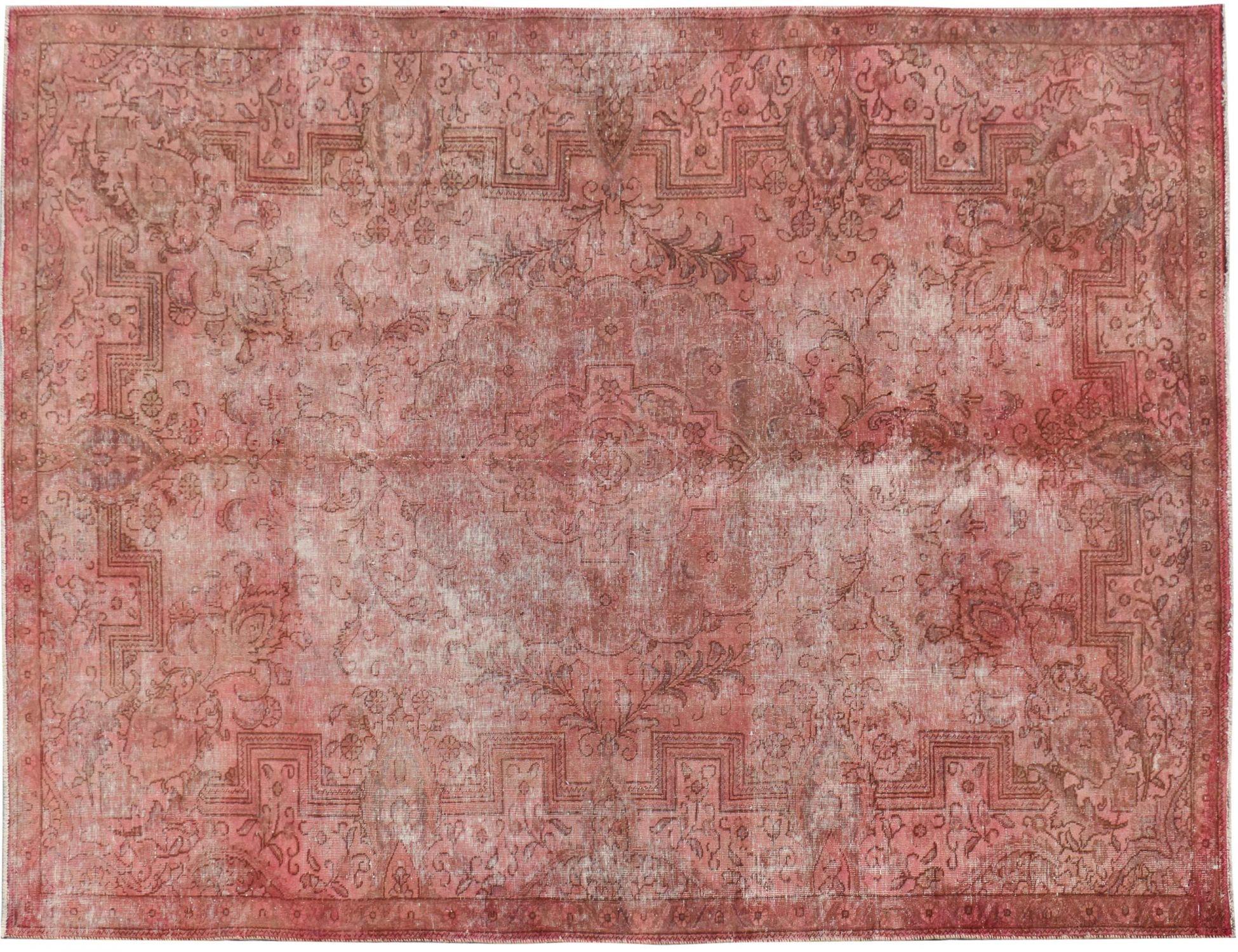 Persischer Vintage Teppich  rosa <br/>338 x 223 cm