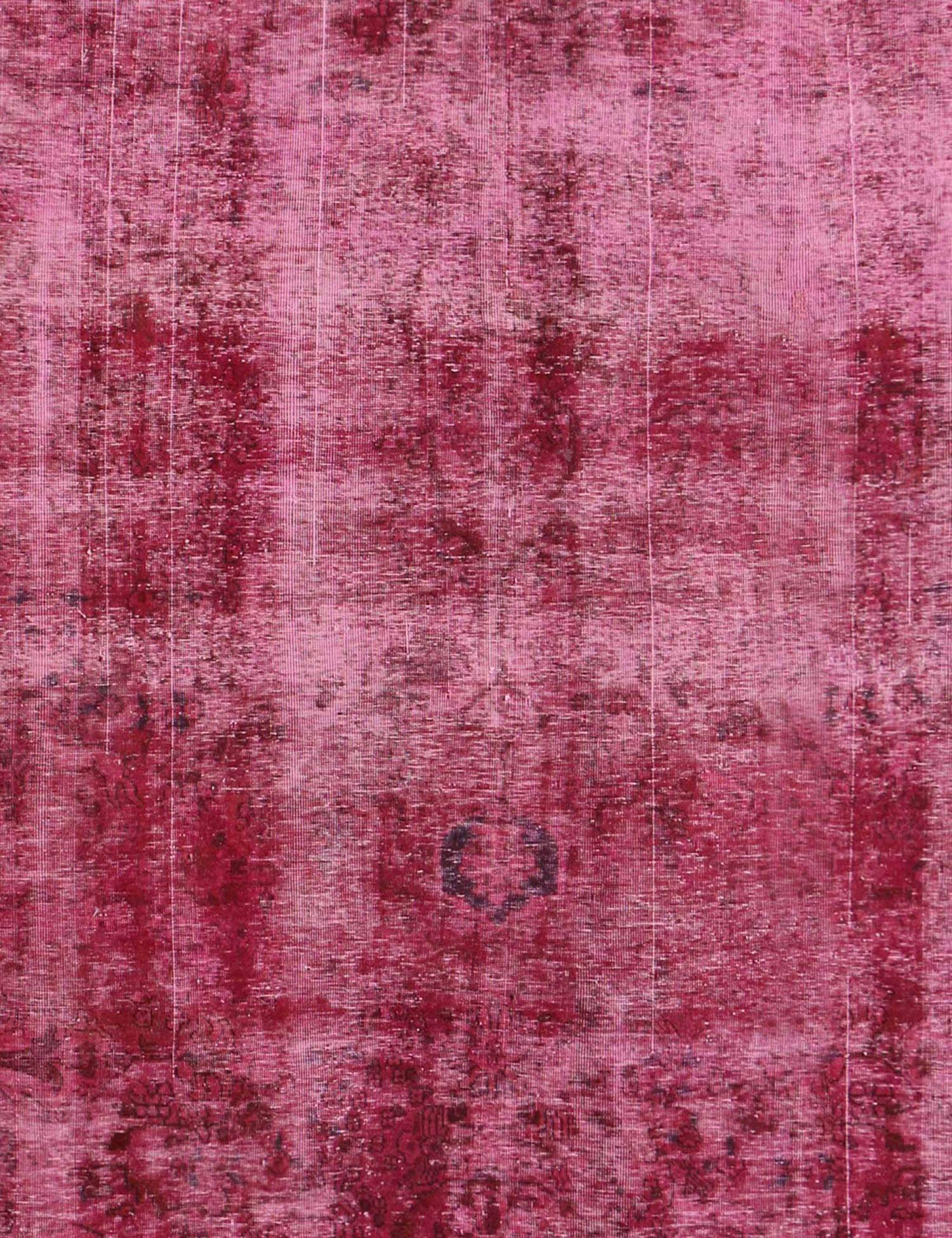 Persischer Vintage Teppich  rot <br/>360 x 260 cm