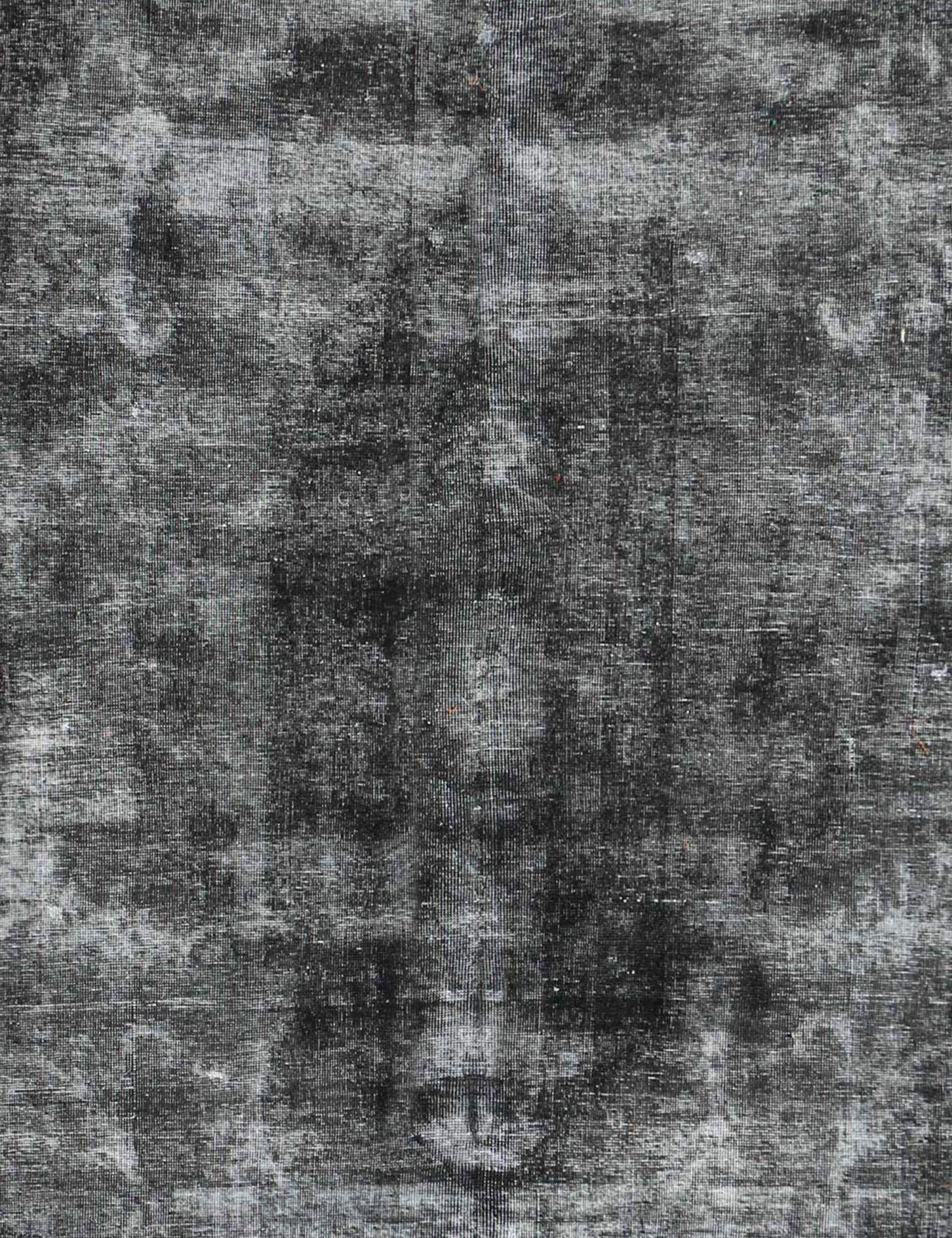 Persischer Vintage Teppich  schwarz <br/>373 x 276 cm
