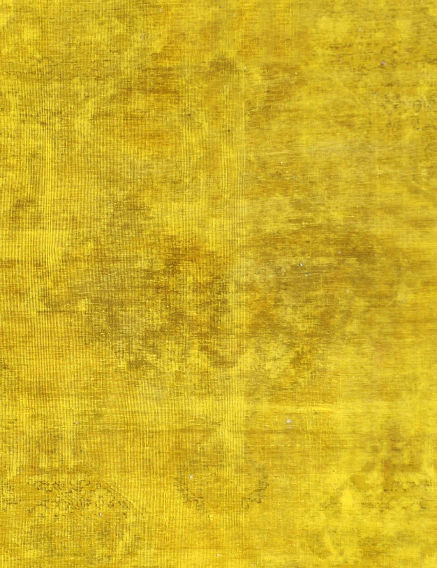 Tappeto Vintage  giallo <br/>275 x 180 cm