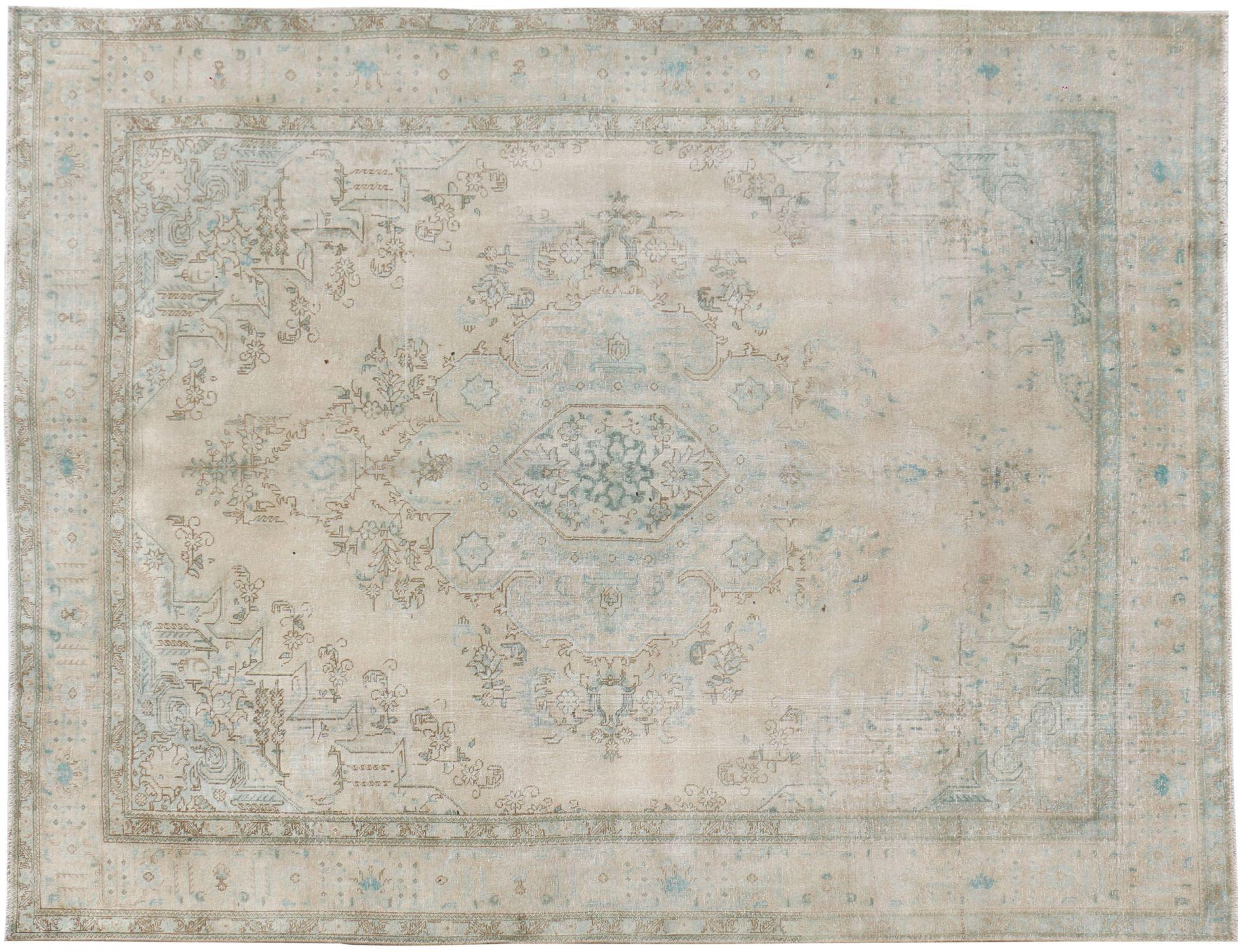 Persisk Vintagetæppe  beige <br/>385 x 285 cm