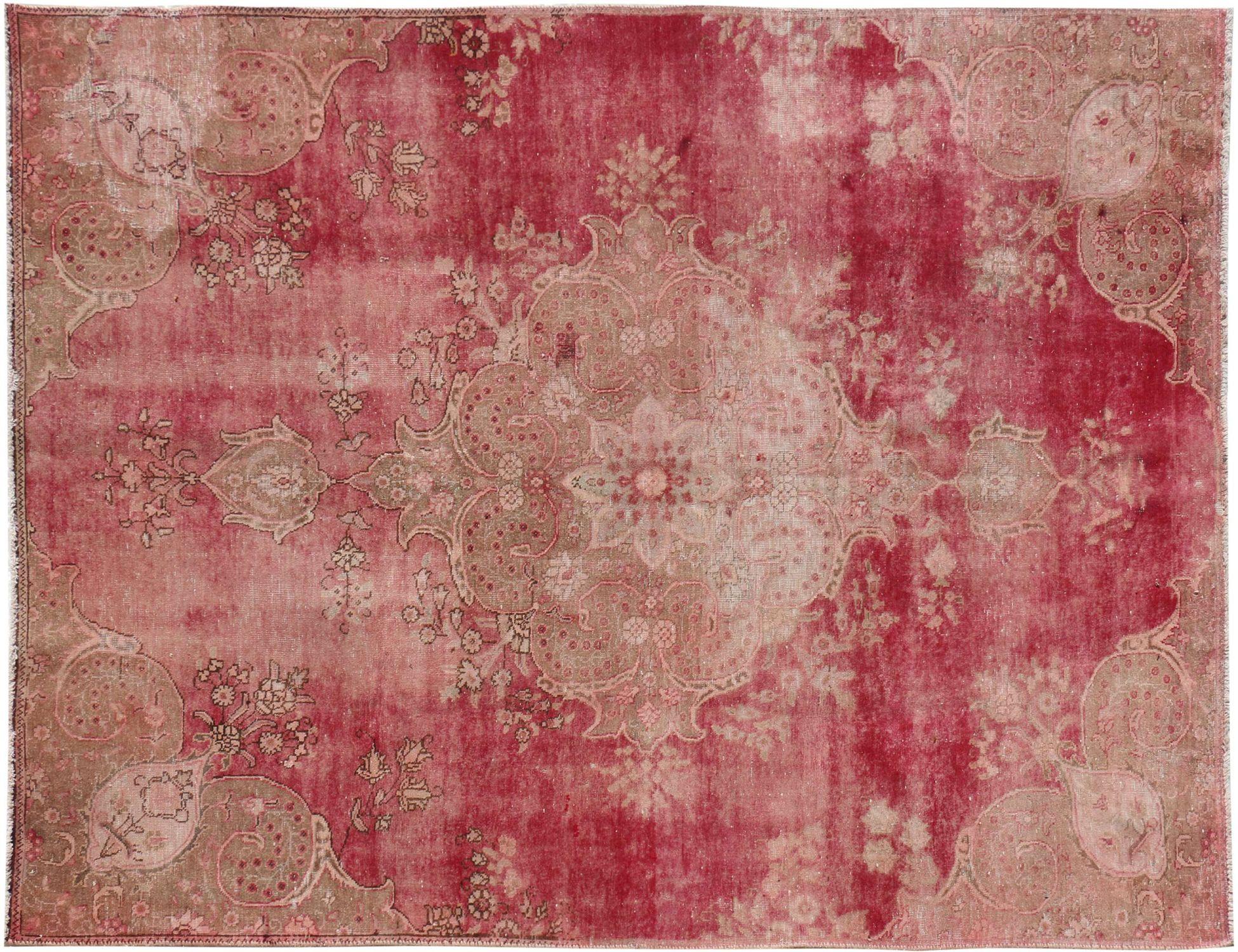 Vintagetæppe  rød <br/>313 x 205 cm