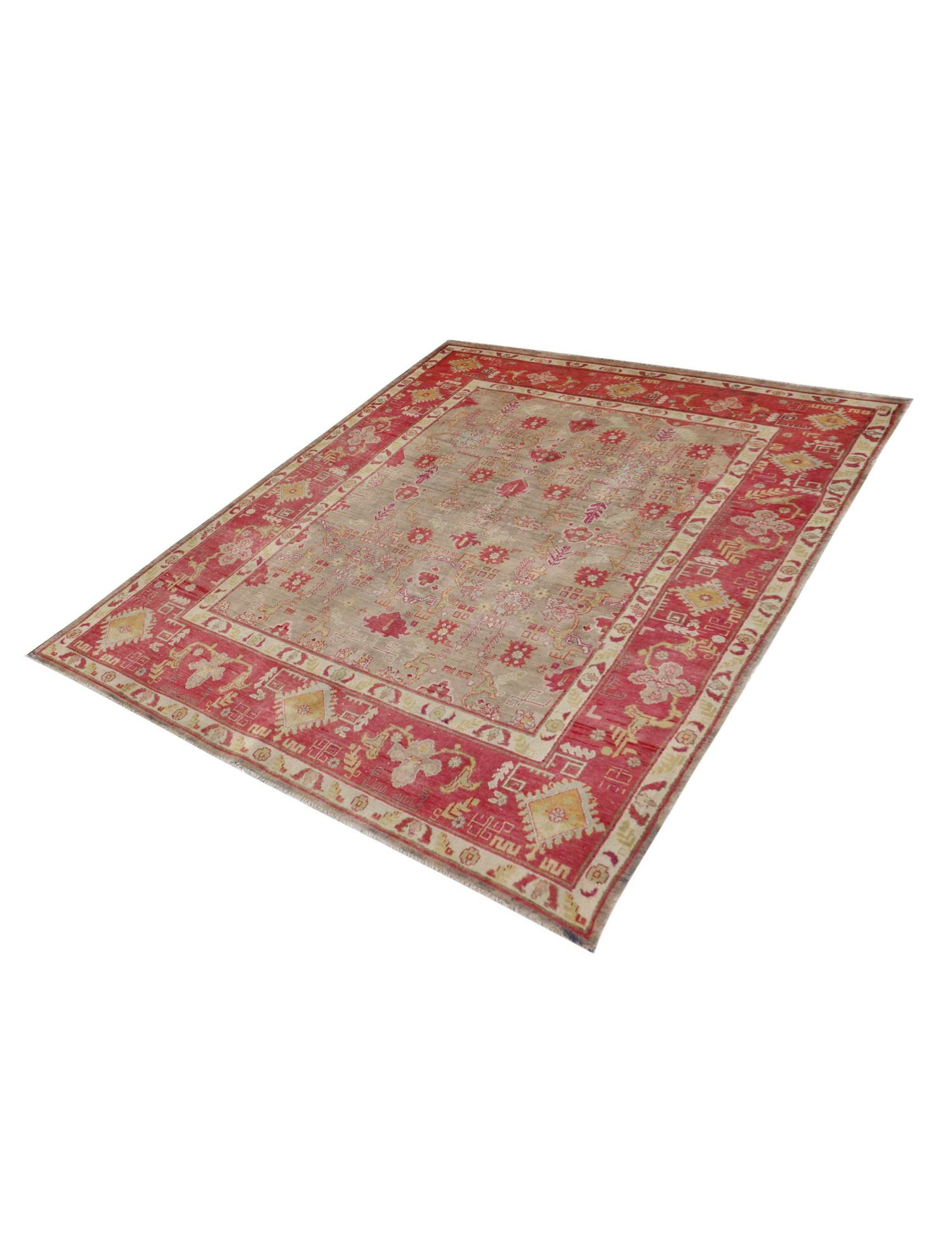 Persisk Vintagetæppe  grå <br/>280 x 185 cm